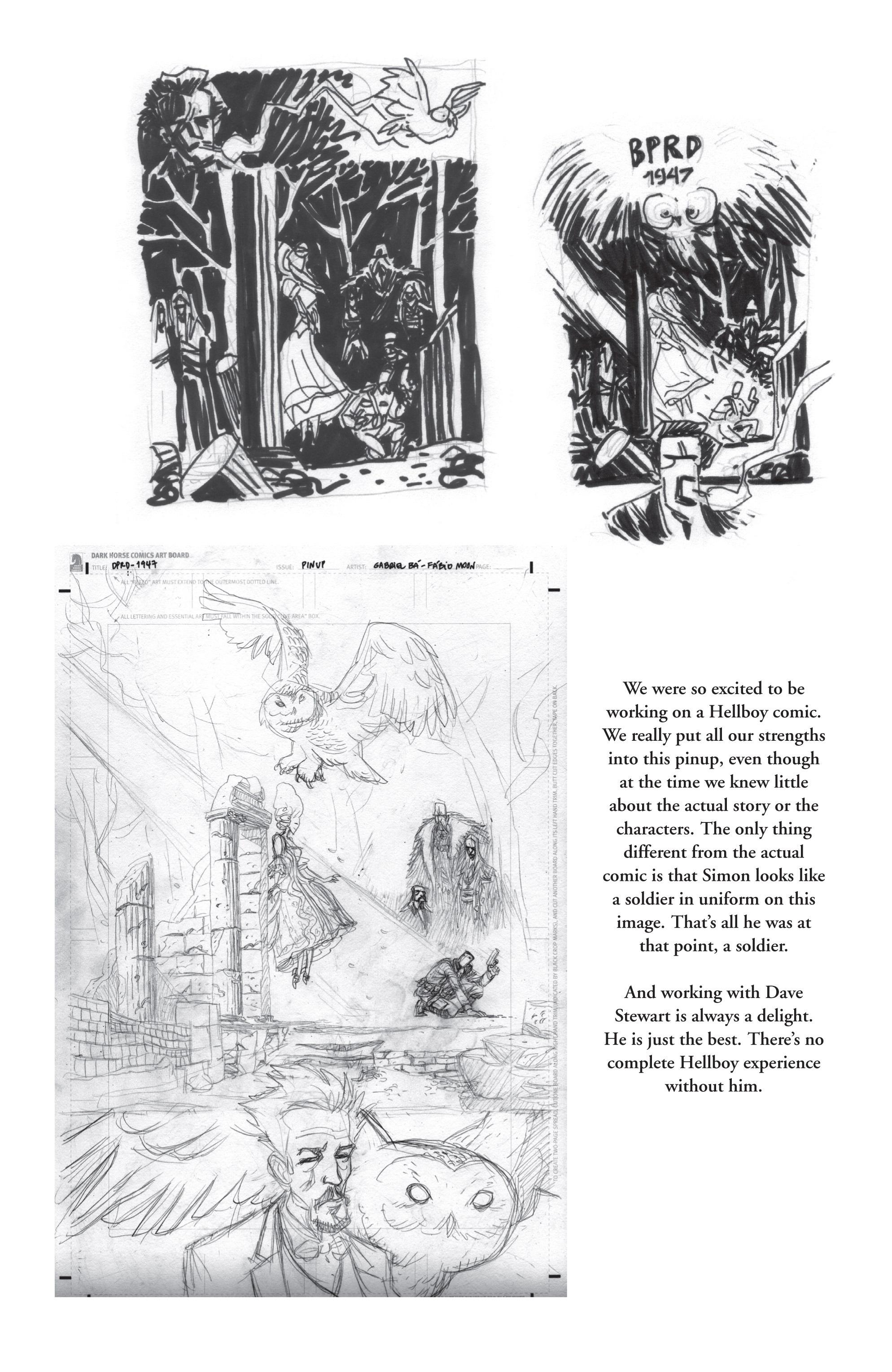 Read online B.P.R.D. (2003) comic -  Issue # TPB 13 - 158