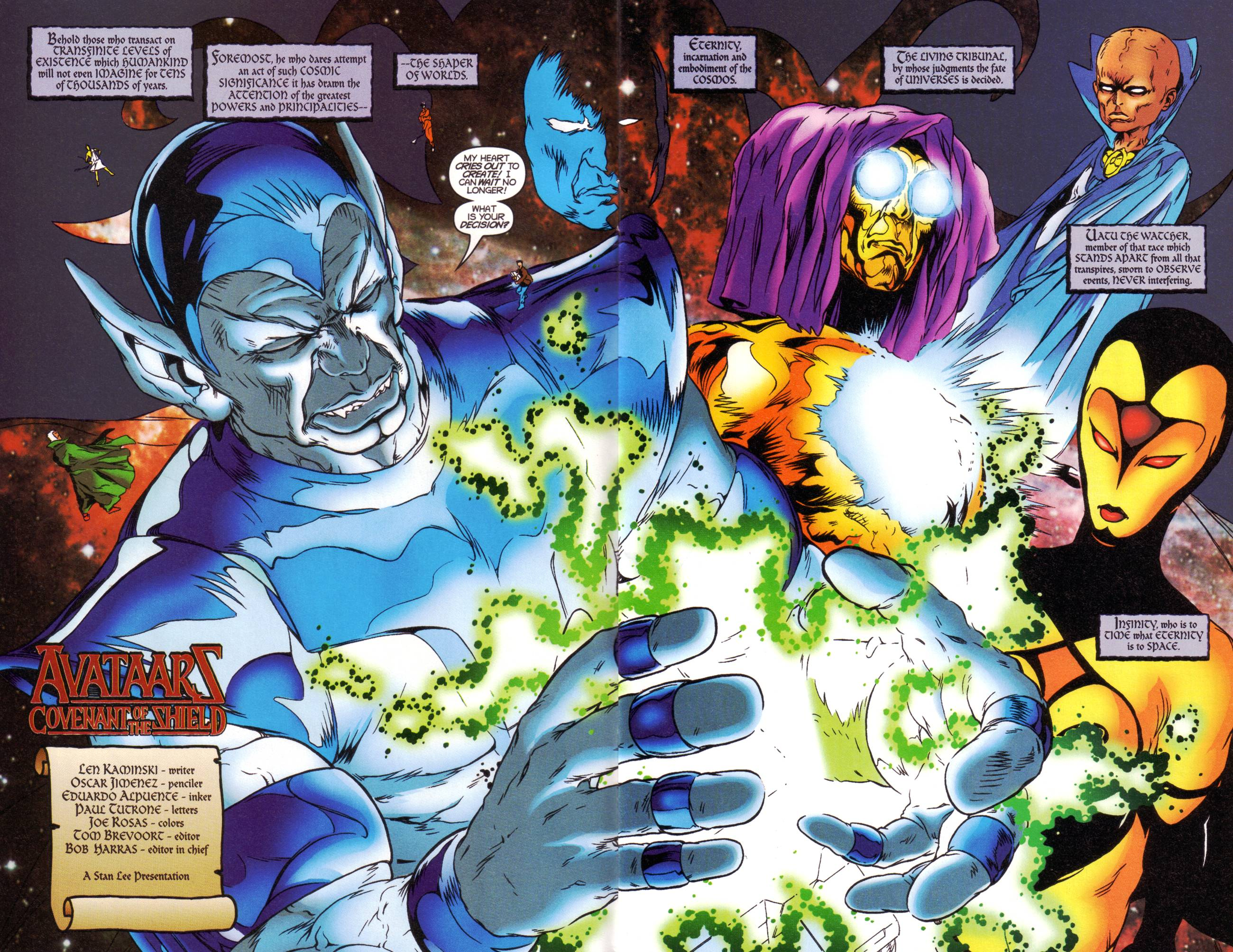 Read online Avataars: Covenant of the Shield comic -  Issue #1 - 3