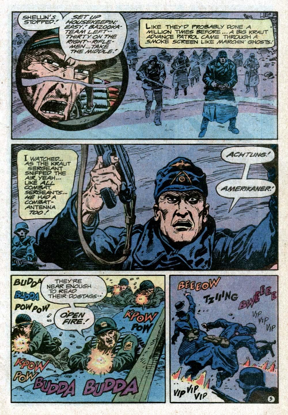 Read online Sgt. Rock comic -  Issue #352 - 8