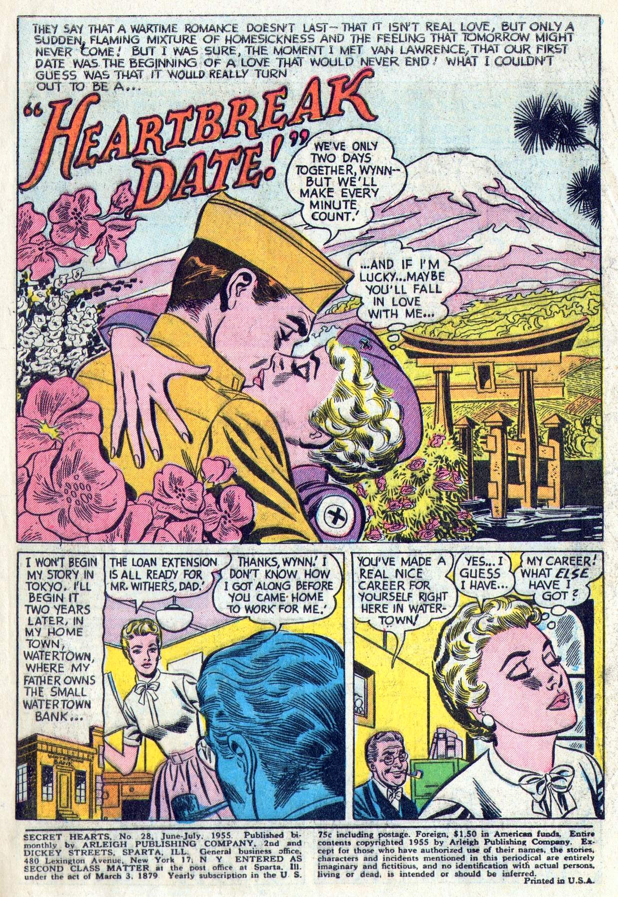 Read online Secret Hearts comic -  Issue #28 - 3