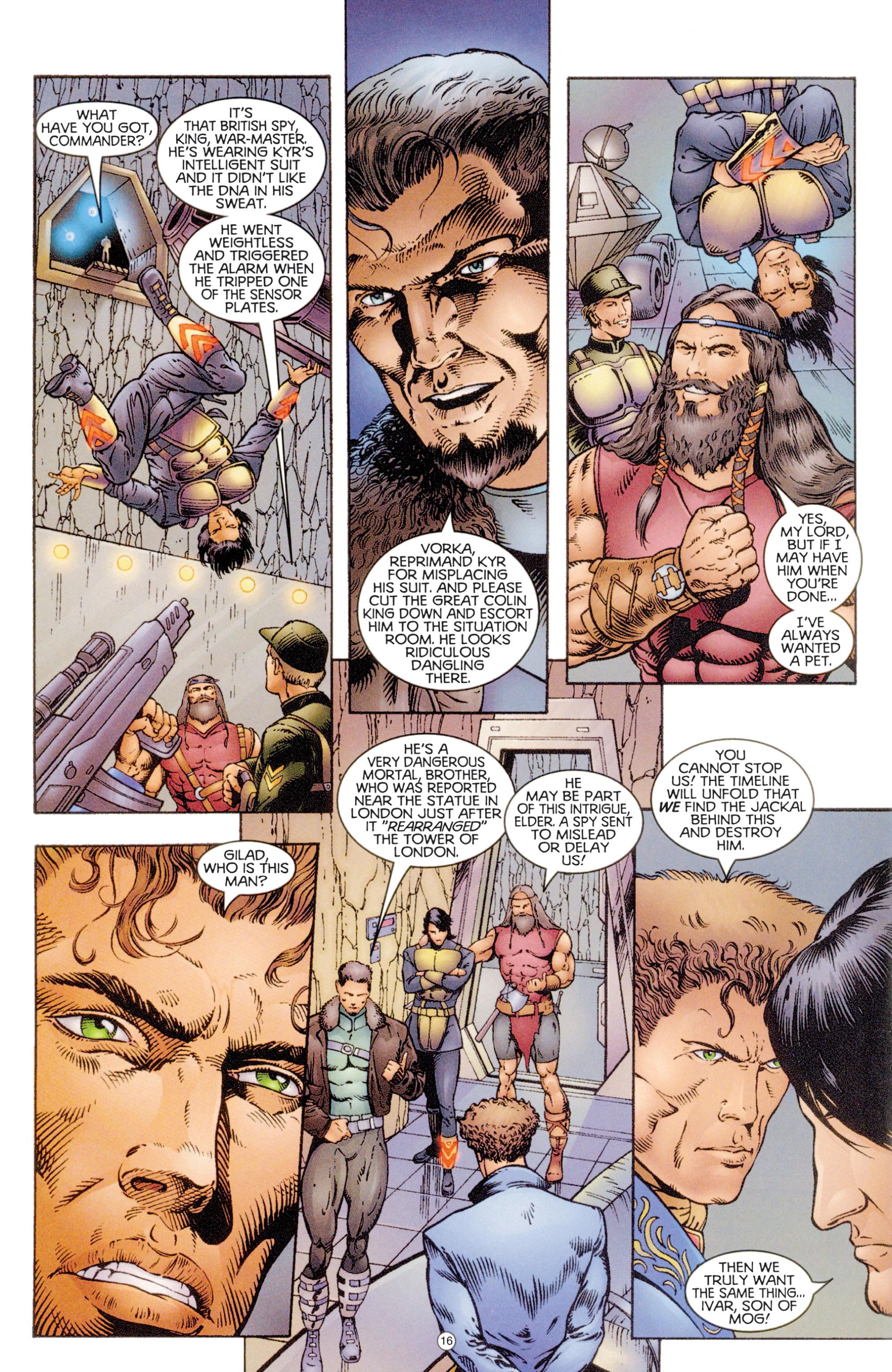 Read online Eternal Warriors comic -  Issue # Issue Digital Alchemy - 15