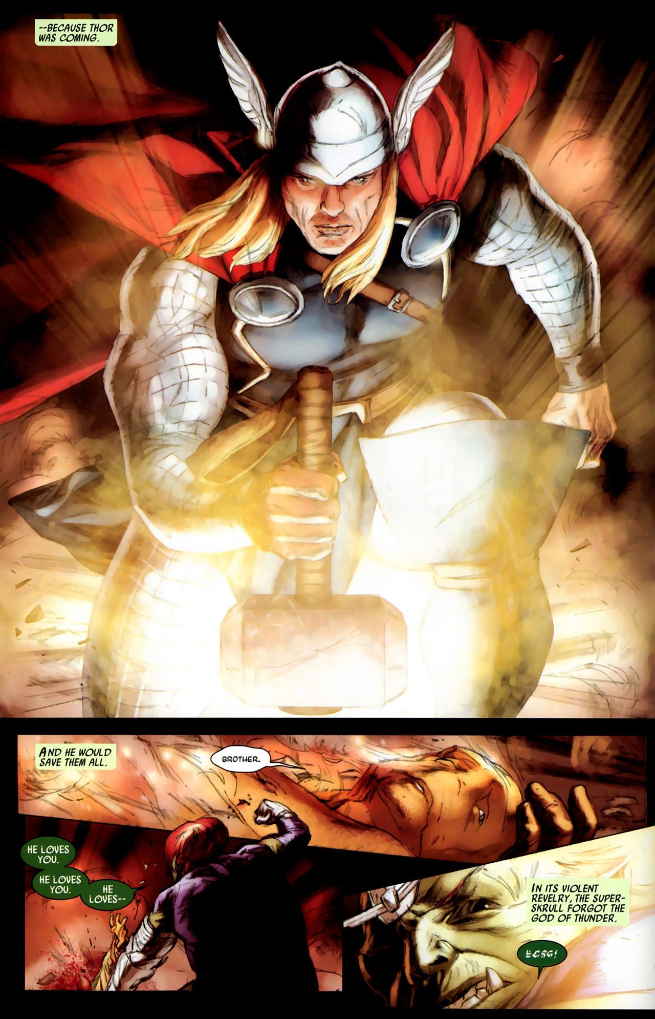 Read online Secret Invasion: Thor comic -  Issue #3 - 6