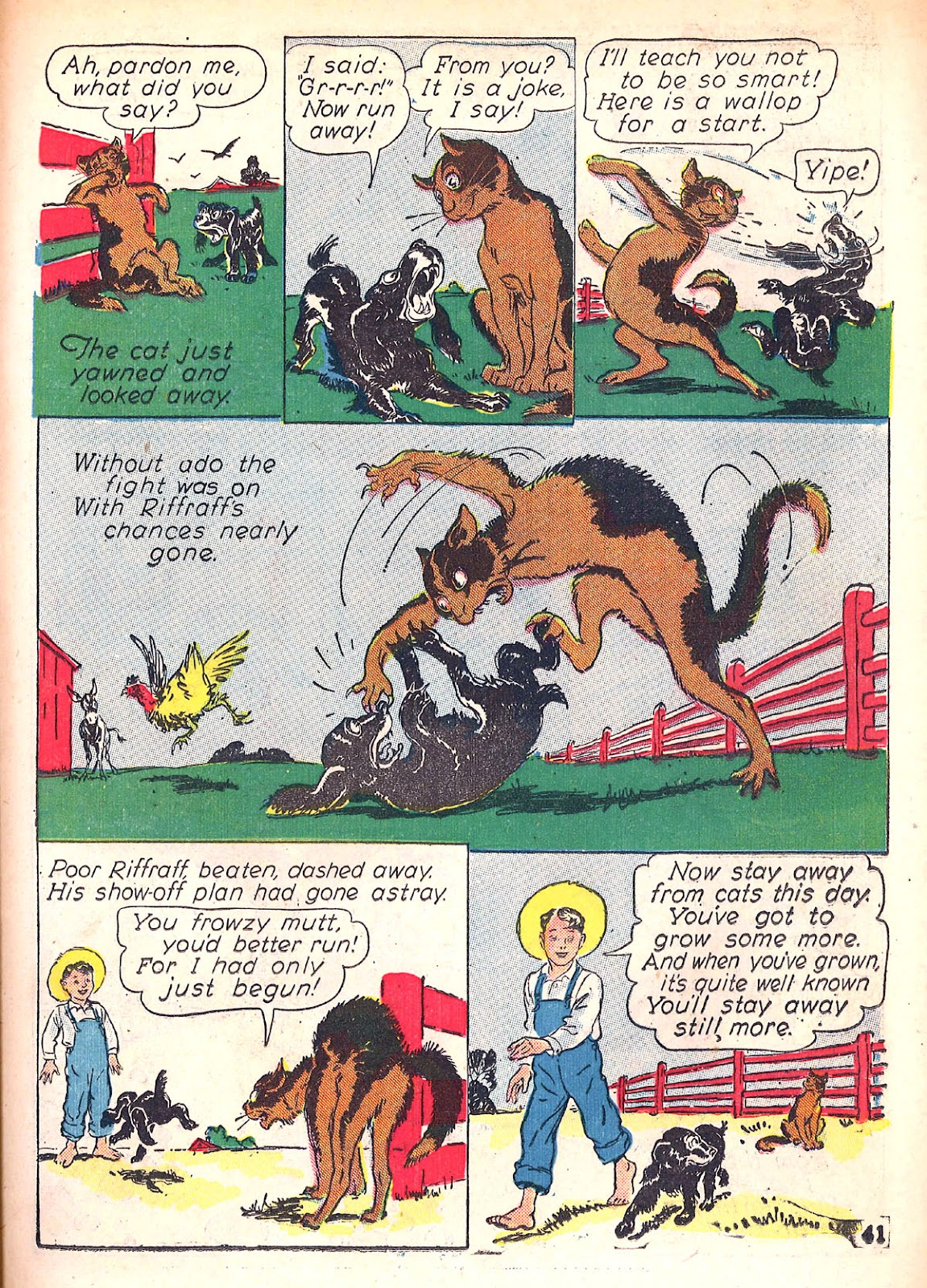 Read online Animal Comics comic -  Issue #4 - 44