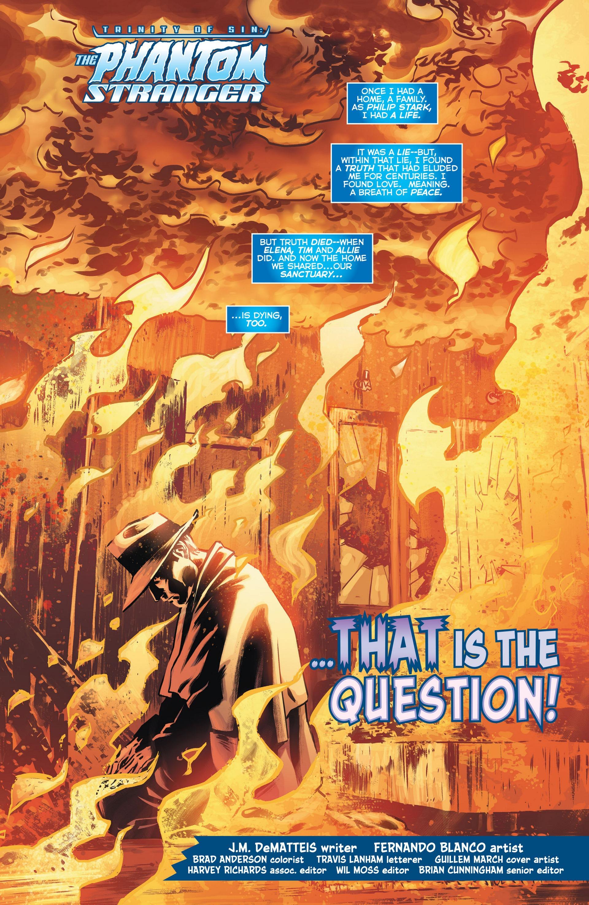 Read online Trinity of Sin: The Phantom Stranger comic -  Issue #13 - 2
