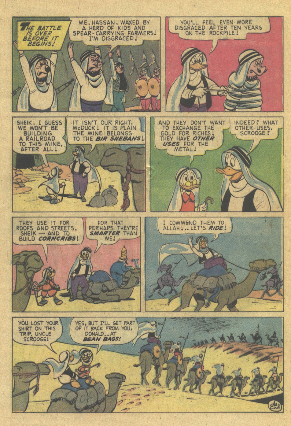 Read online Uncle Scrooge (1953) comic -  Issue #121 - 32