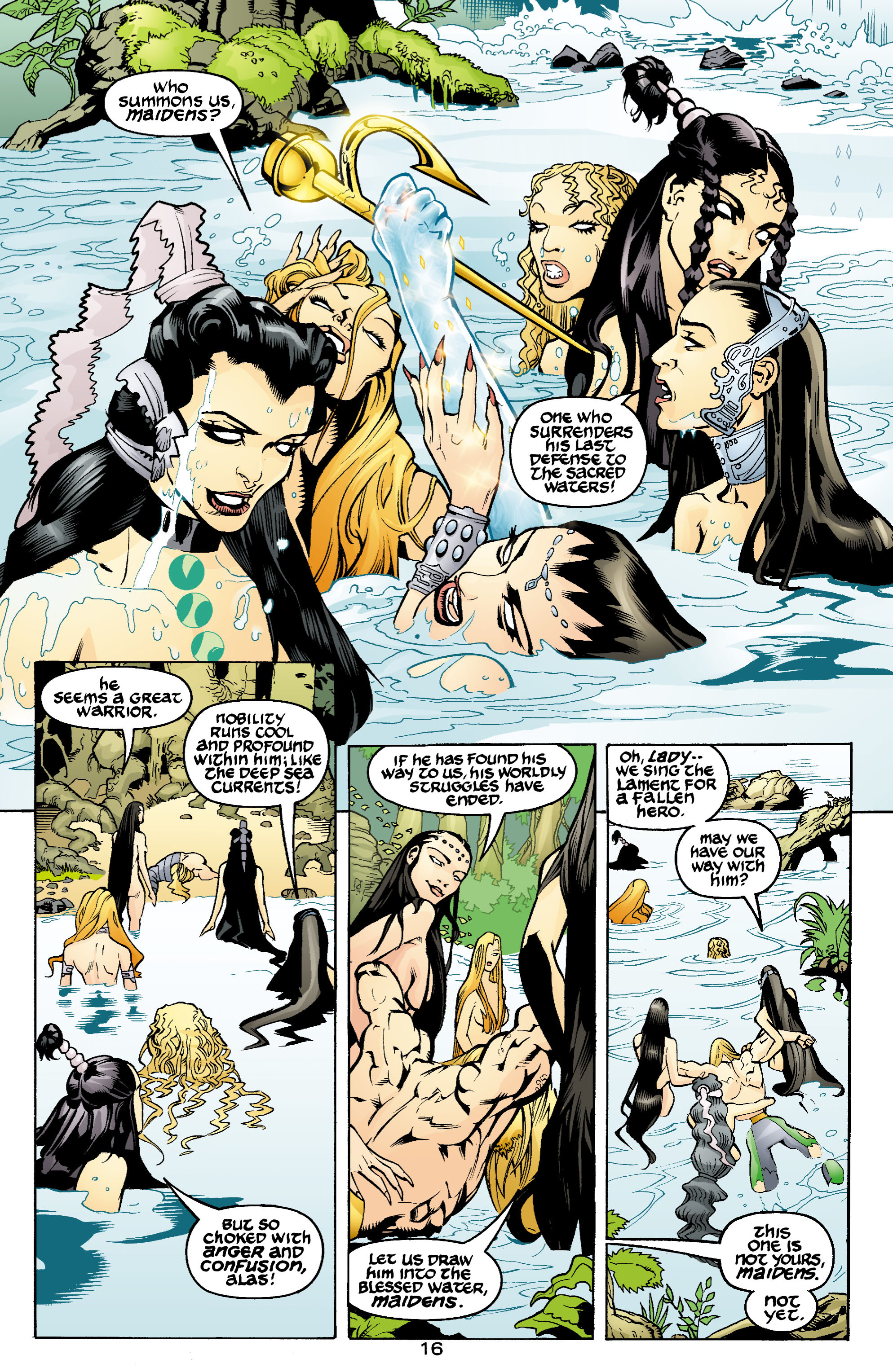 Read online Aquaman (2003) comic -  Issue #1 - 17