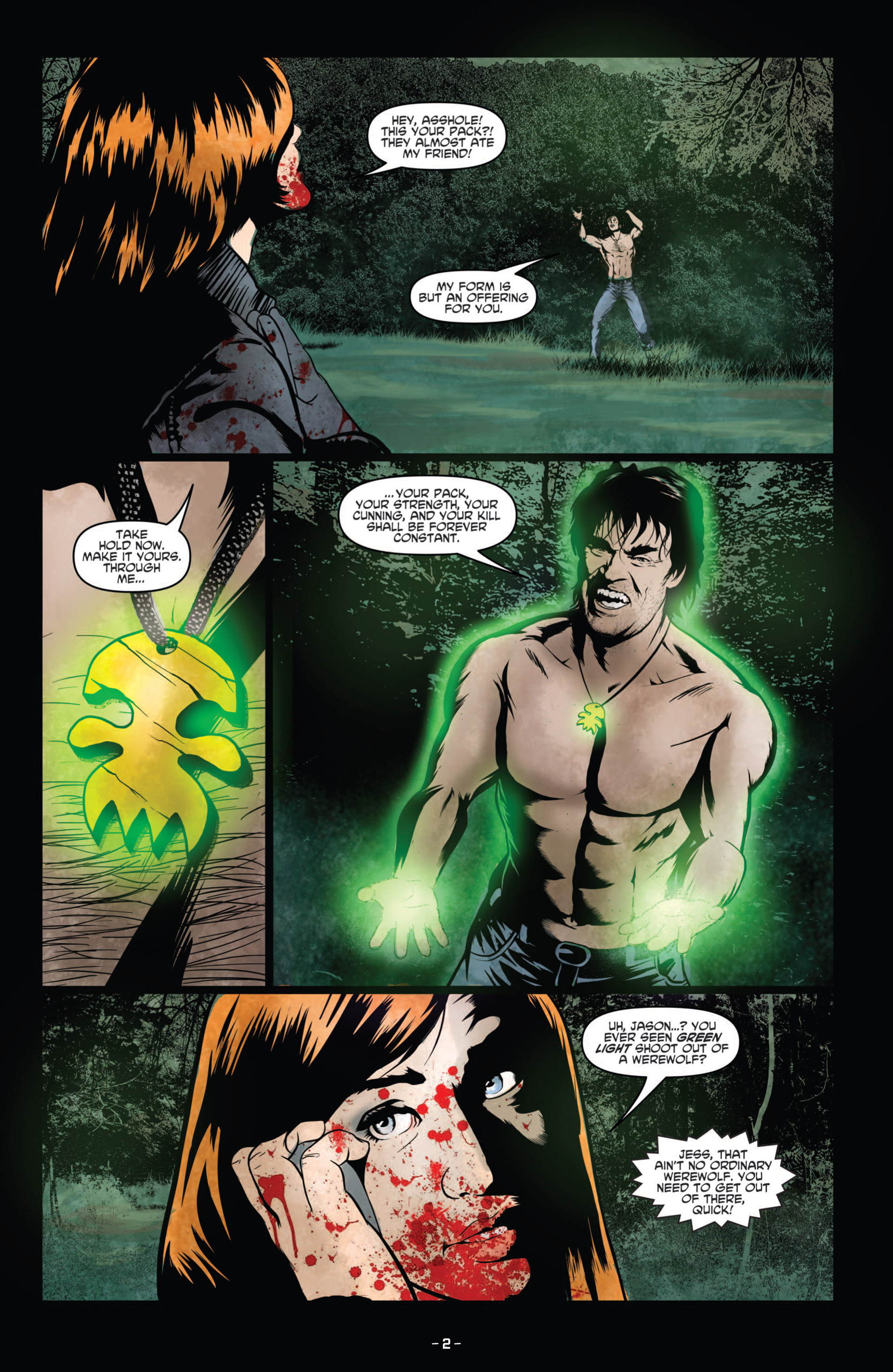 Read online True Blood (2012) comic -  Issue #9 - 4