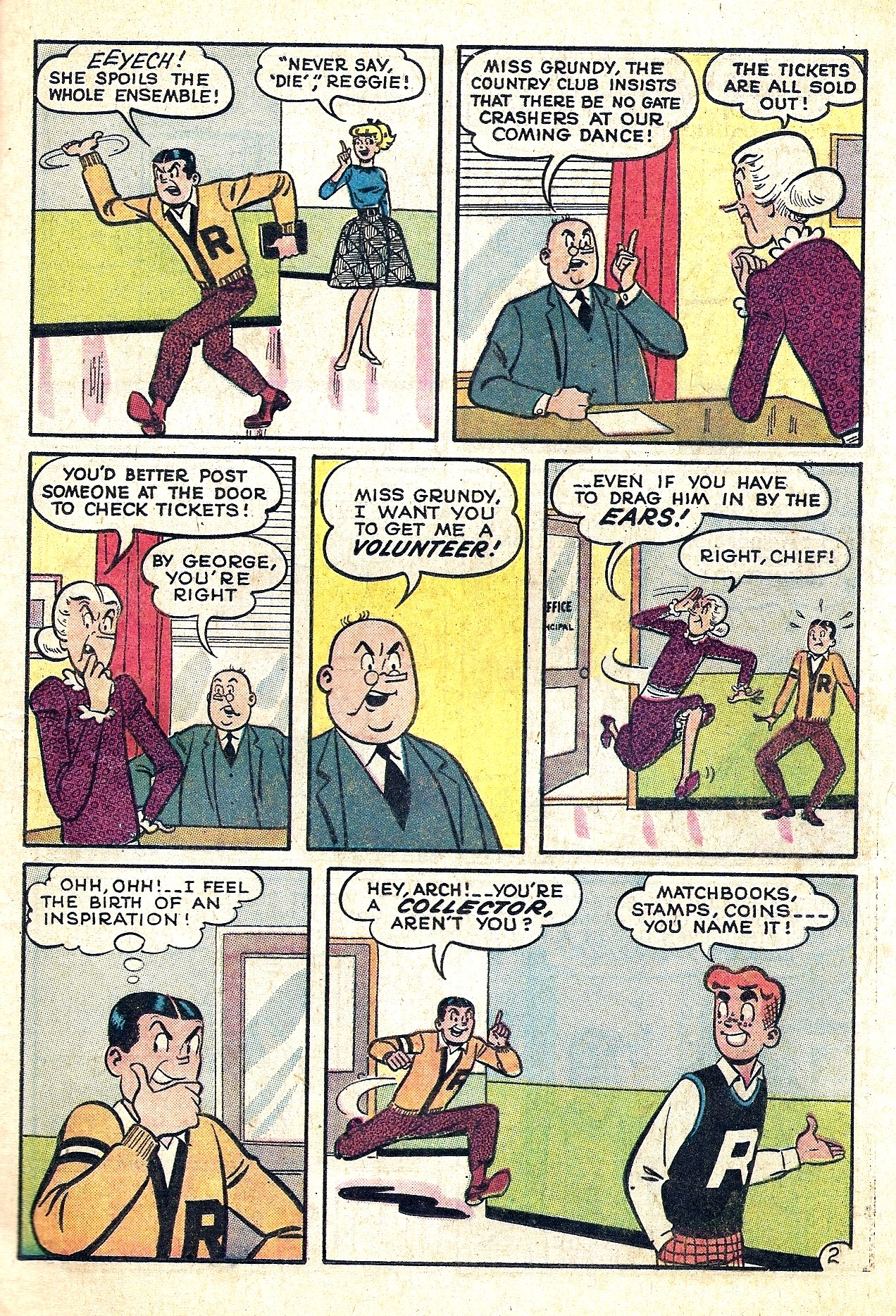 Read online Archie (1960) comic -  Issue #130 - 21