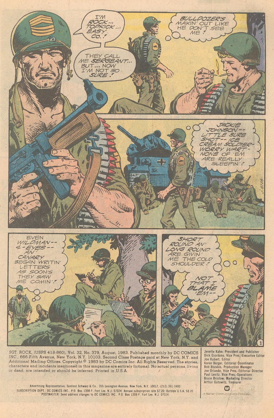 Sgt. Rock issue 379 - Page 2