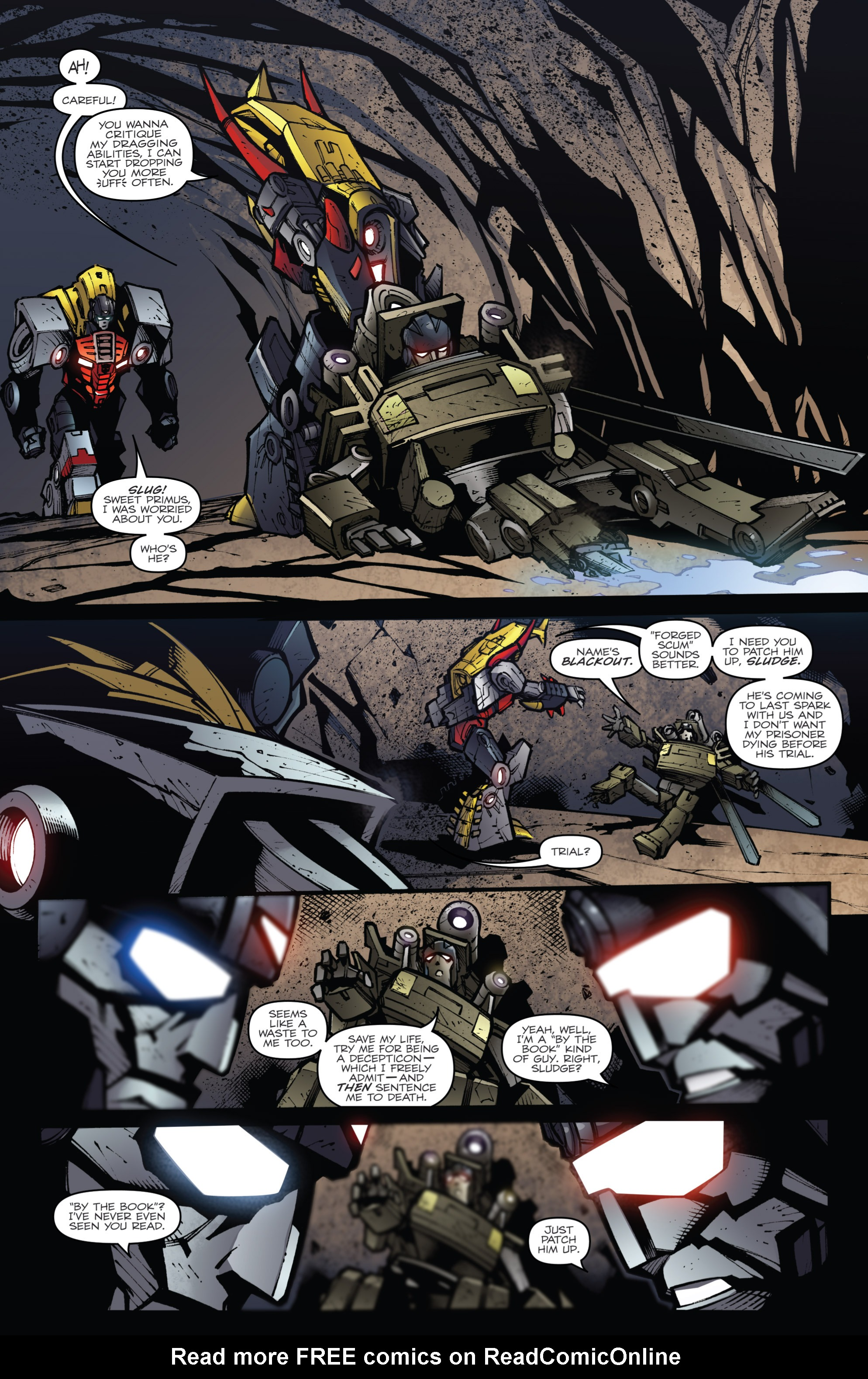 Read online Transformers Prime: Beast Hunters comic -  Issue #6 - 4