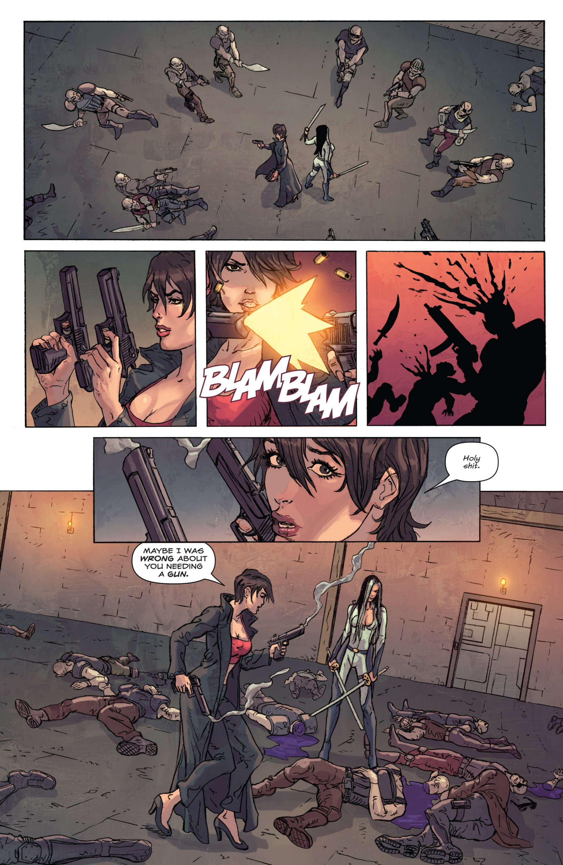Read online Grimm Fairy Tales presents Inferno: Age of Darkness comic -  Issue # Full - 37