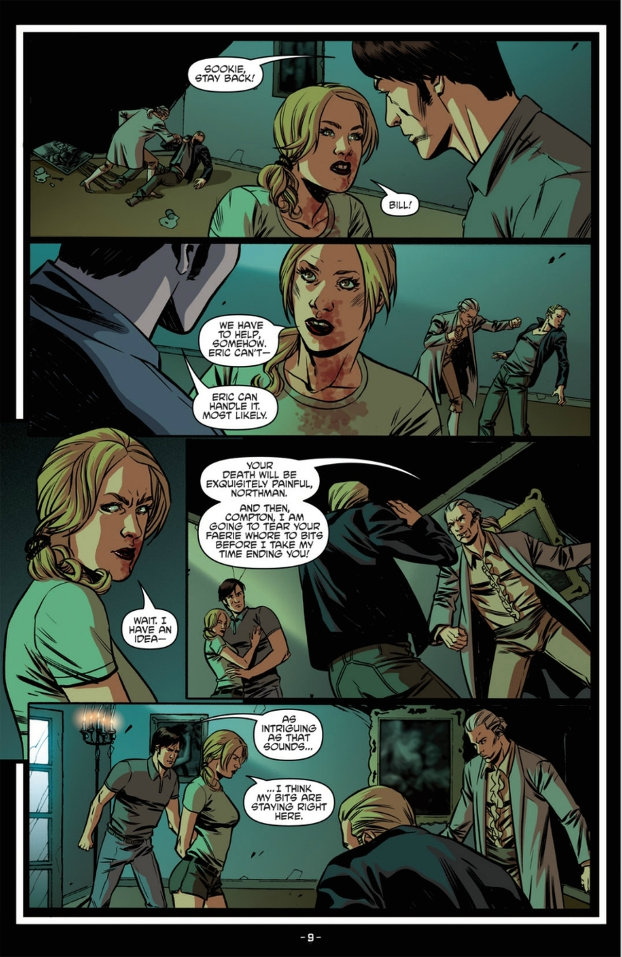 Read online True Blood: French Quarter comic -  Issue #6 - 14