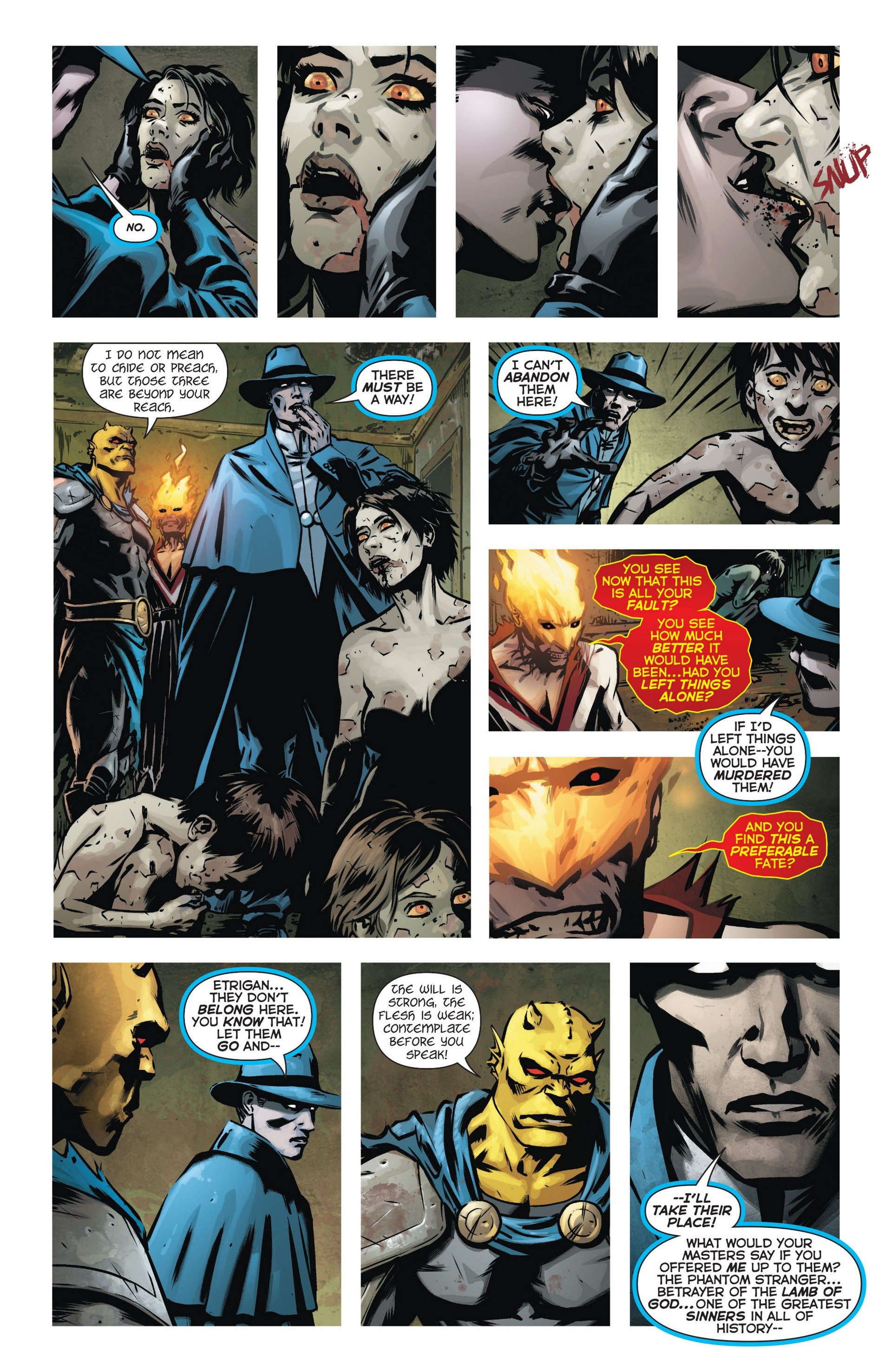 Read online Trinity of Sin: The Phantom Stranger comic -  Issue #9 - 15
