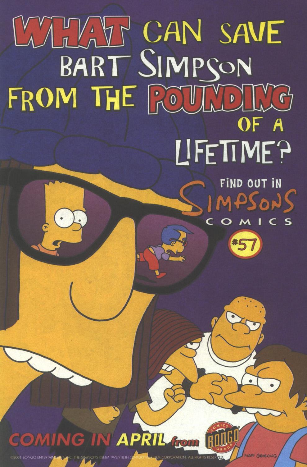 Read online Simpsons Comics comic -  Issue #56 - 24