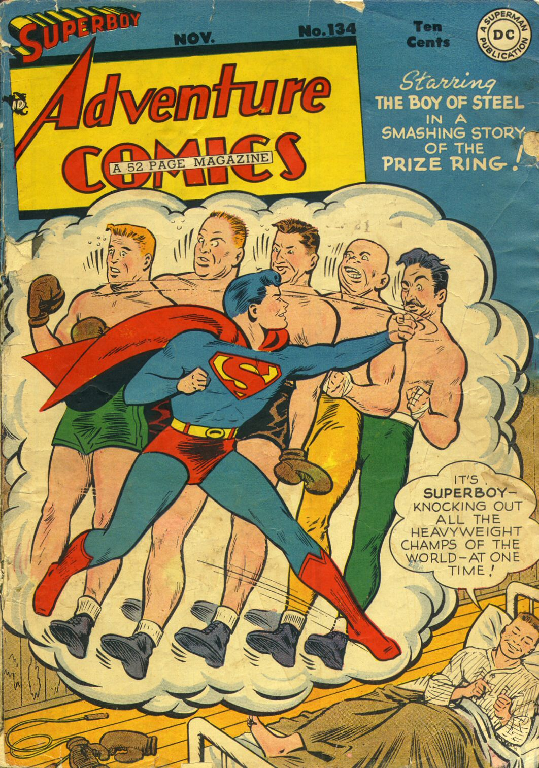 Read online Adventure Comics (1938) comic -  Issue #134 - 1