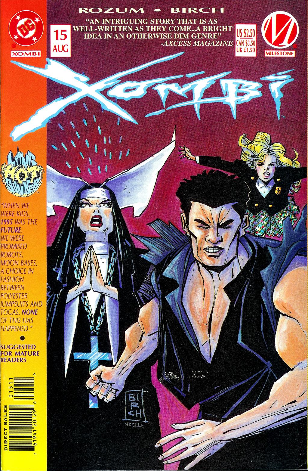 Xombi (1994) 15 Page 1