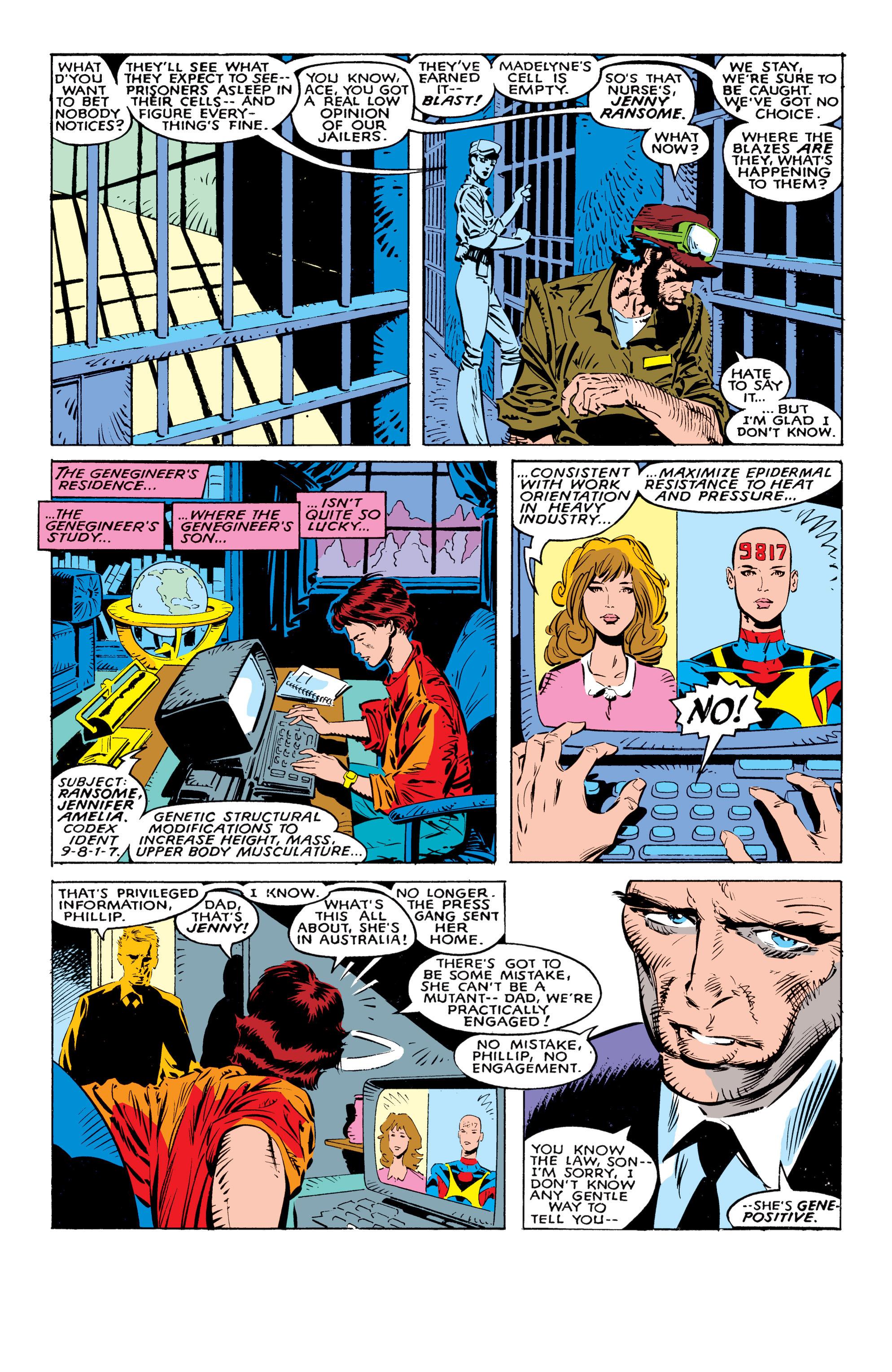 Read online Uncanny X-Men (1963) comic -  Issue #236 - 20