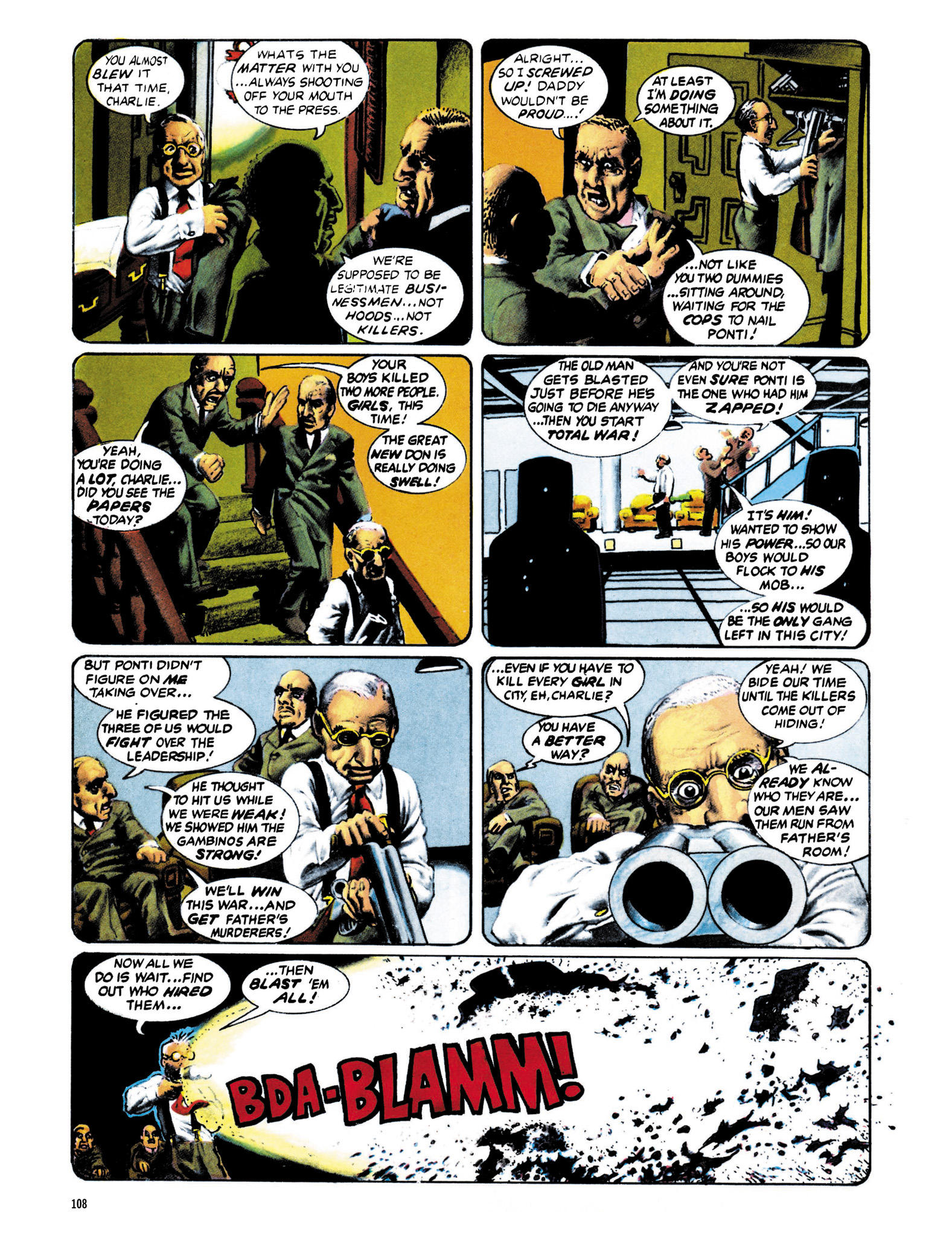 Read online Eerie Archives comic -  Issue # TPB 13 - 109