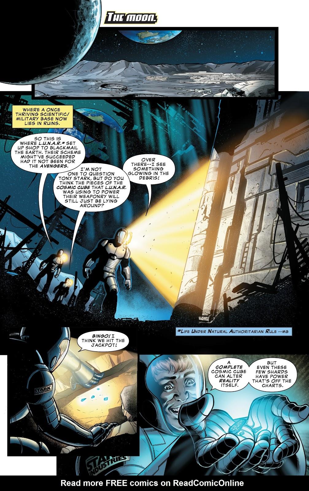 Read online Avengers: Edge of Infinity comic -  Issue # Full - 3