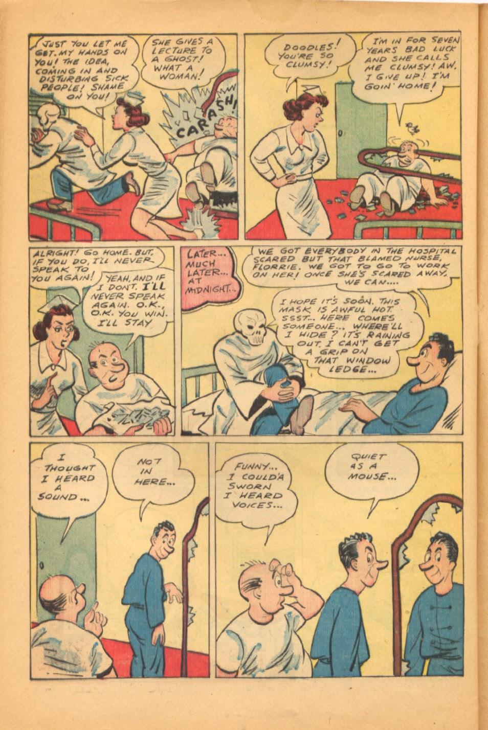 Read online Super-Magician Comics comic -  Issue #38 - 40