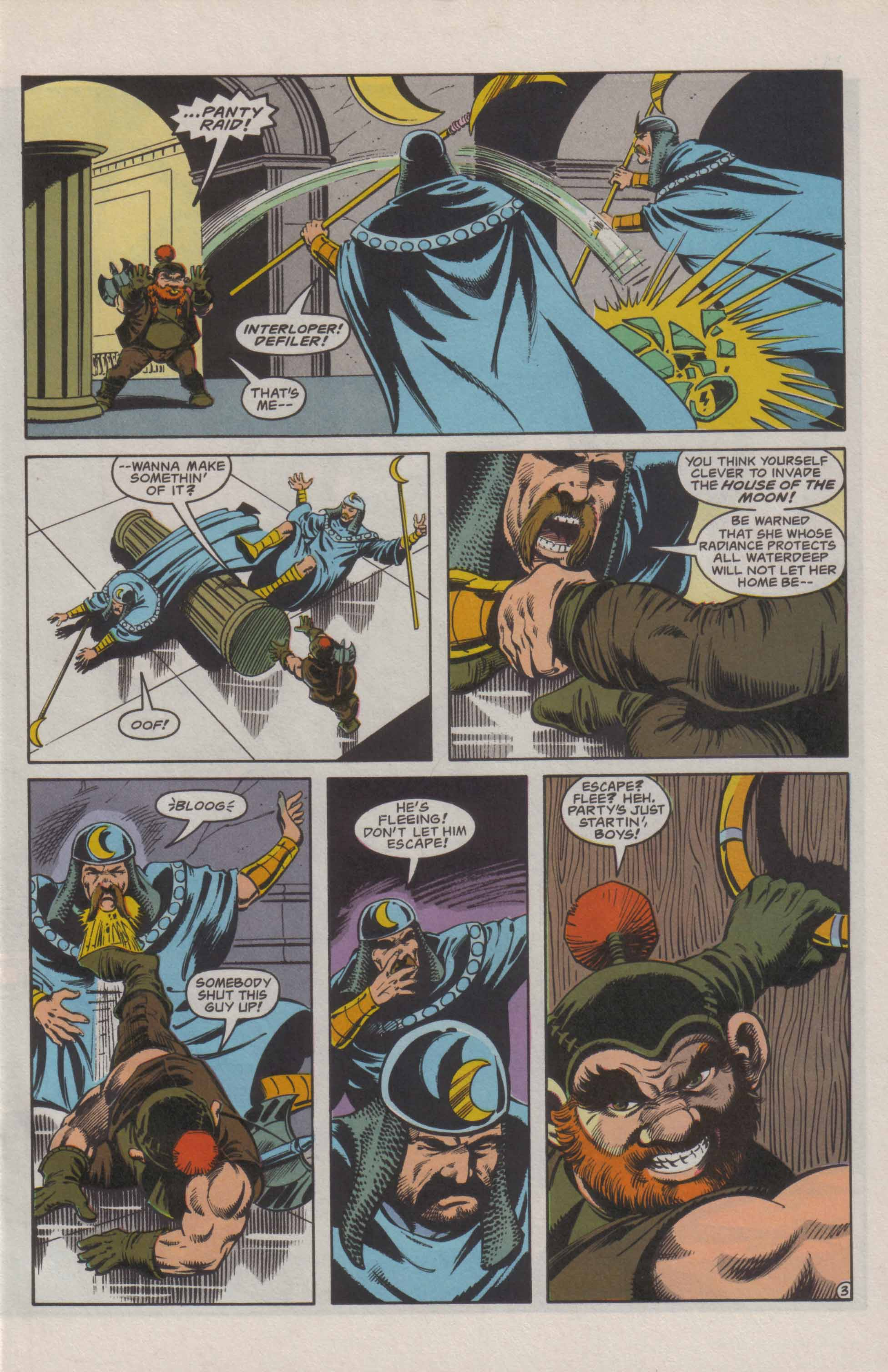 Read online Advanced Dungeons & Dragons comic -  Issue #21 - 4