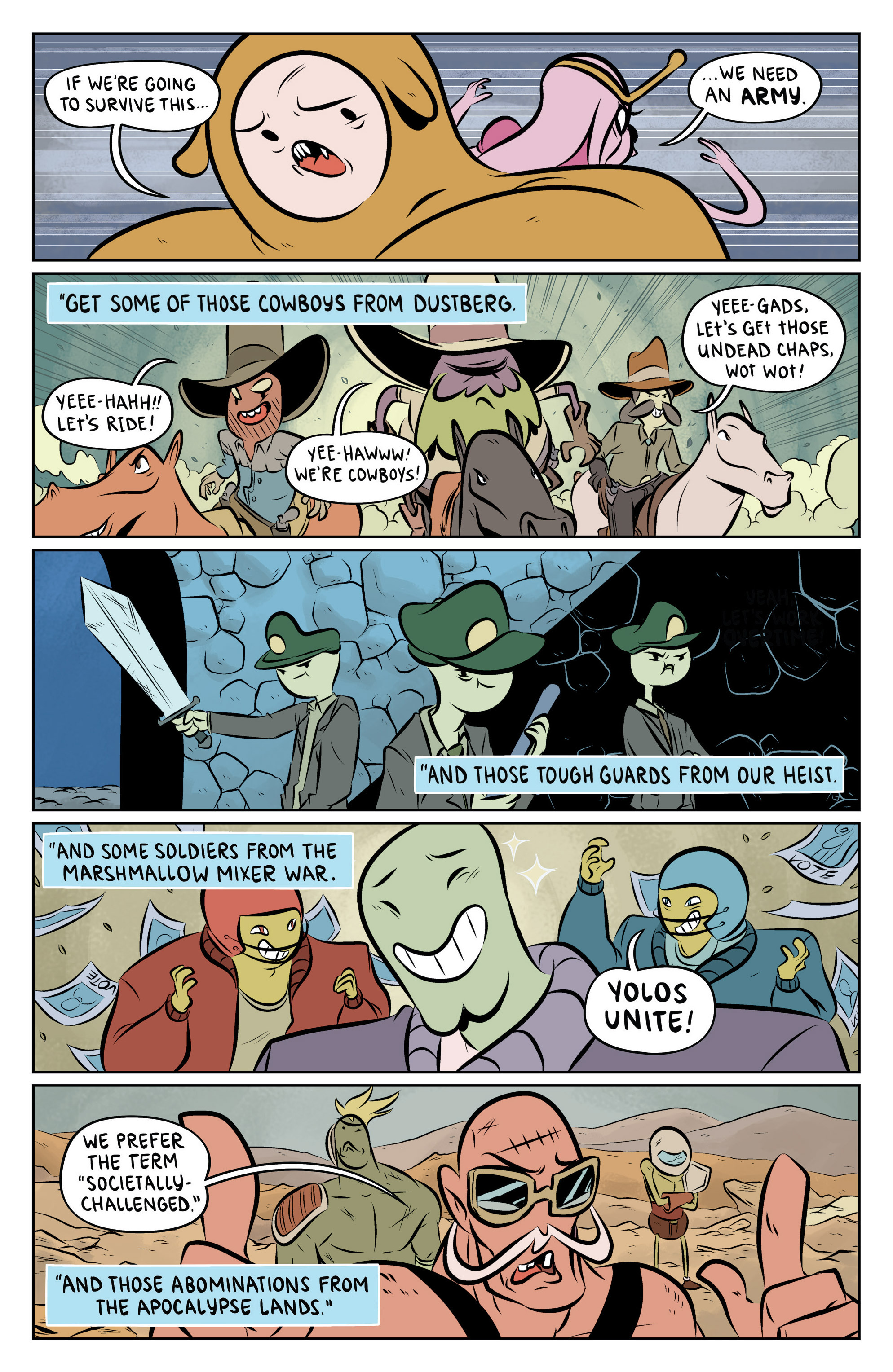 Read online Adventure Time: The Flip Side comic -  Issue #6 - 16