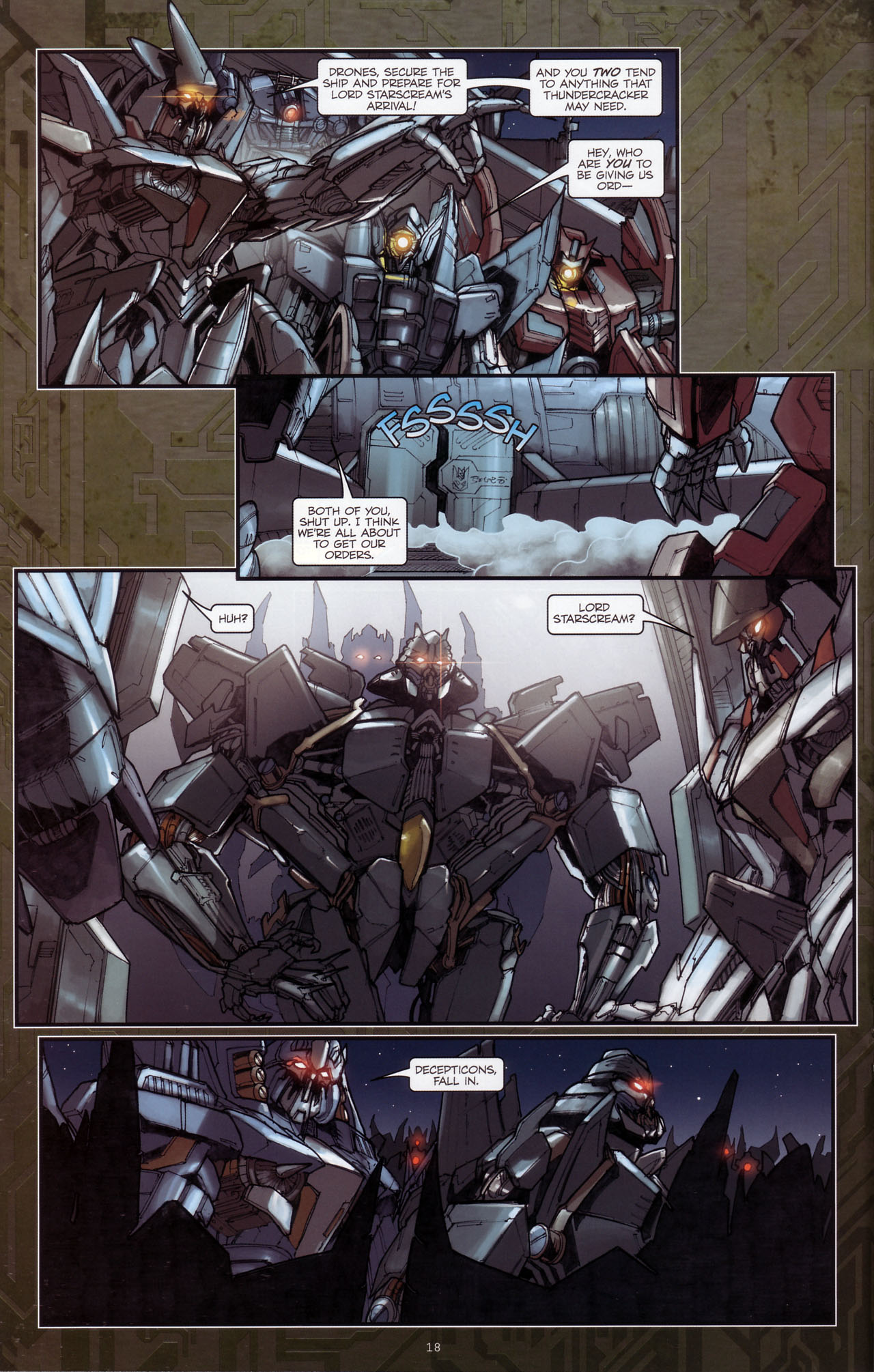 Read online Transformers: The Reign of Starscream comic -  Issue #3 - 19