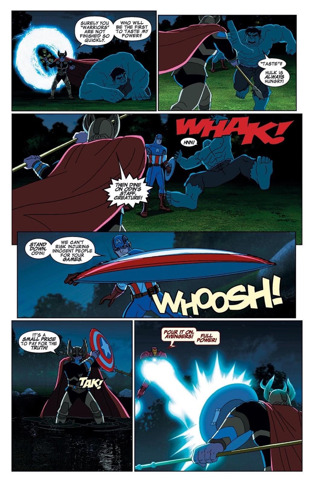 Read online Marvel Universe Avengers Assemble Season 2 comic -  Issue #7 - 8