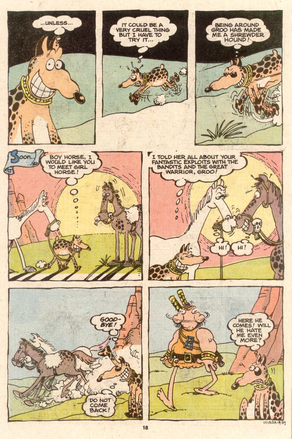 Read online Sergio Aragonés Groo the Wanderer comic -  Issue #62 - 19