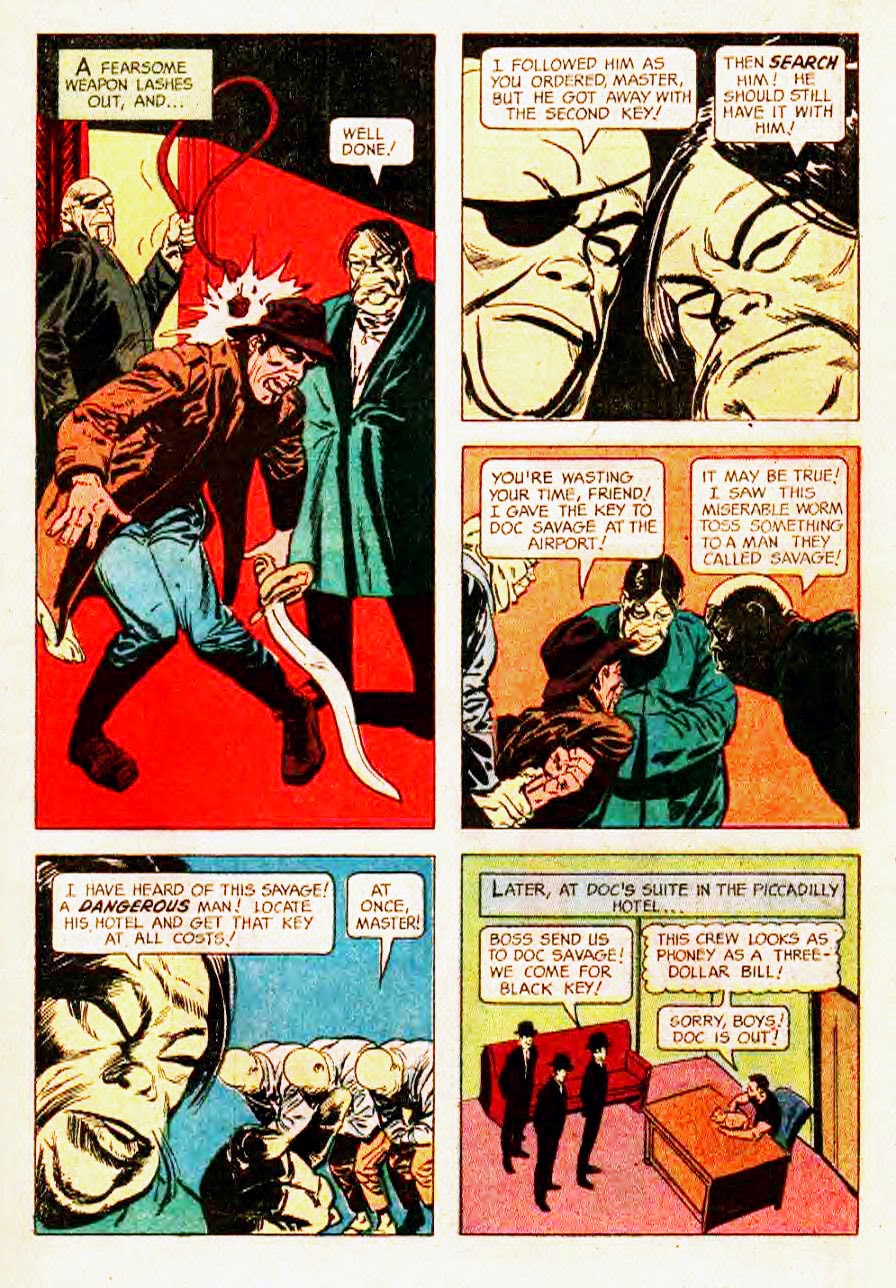 Read online Doc Savage (1966) comic -  Issue # Full - 7