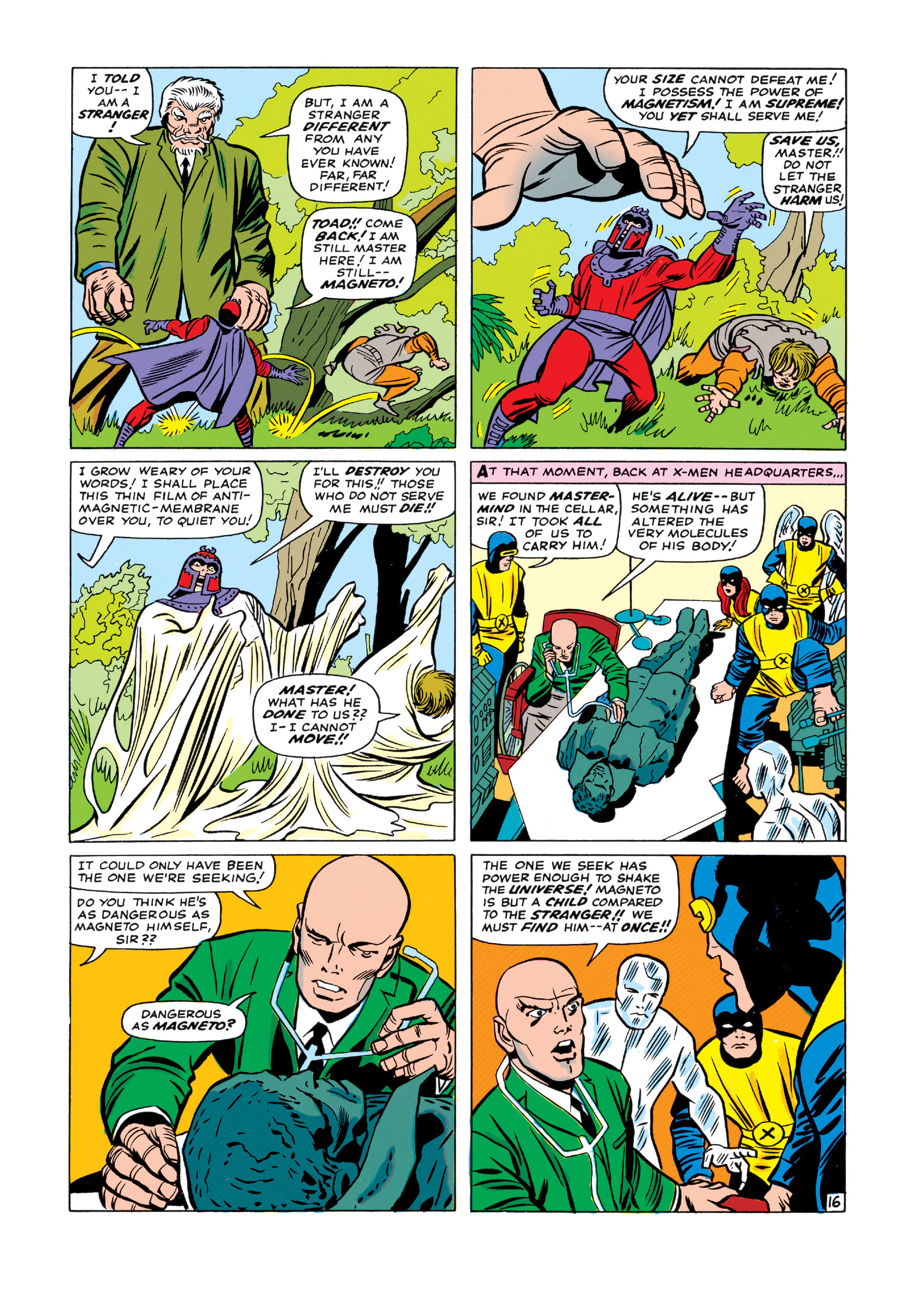 Read online Uncanny X-Men (1963) comic -  Issue #11 - 17
