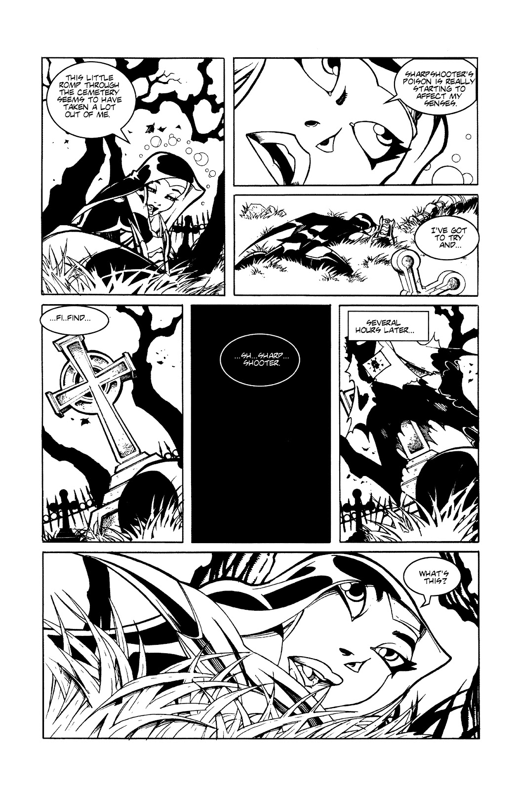 Warrior Nun Areala:  Dangerous Game Issue #3 #3 - English 9