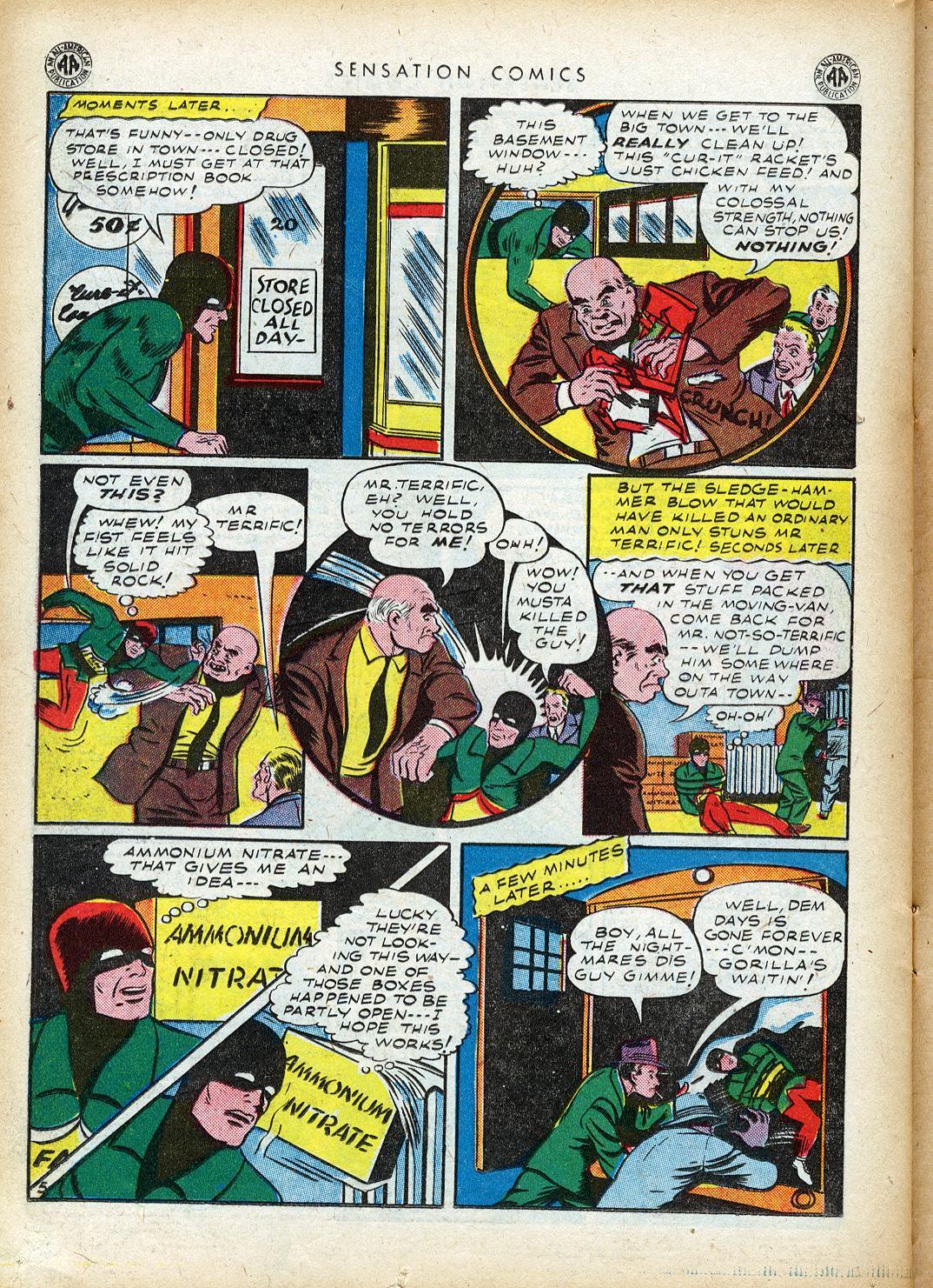 Read online Sensation (Mystery) Comics comic -  Issue #40 - 36