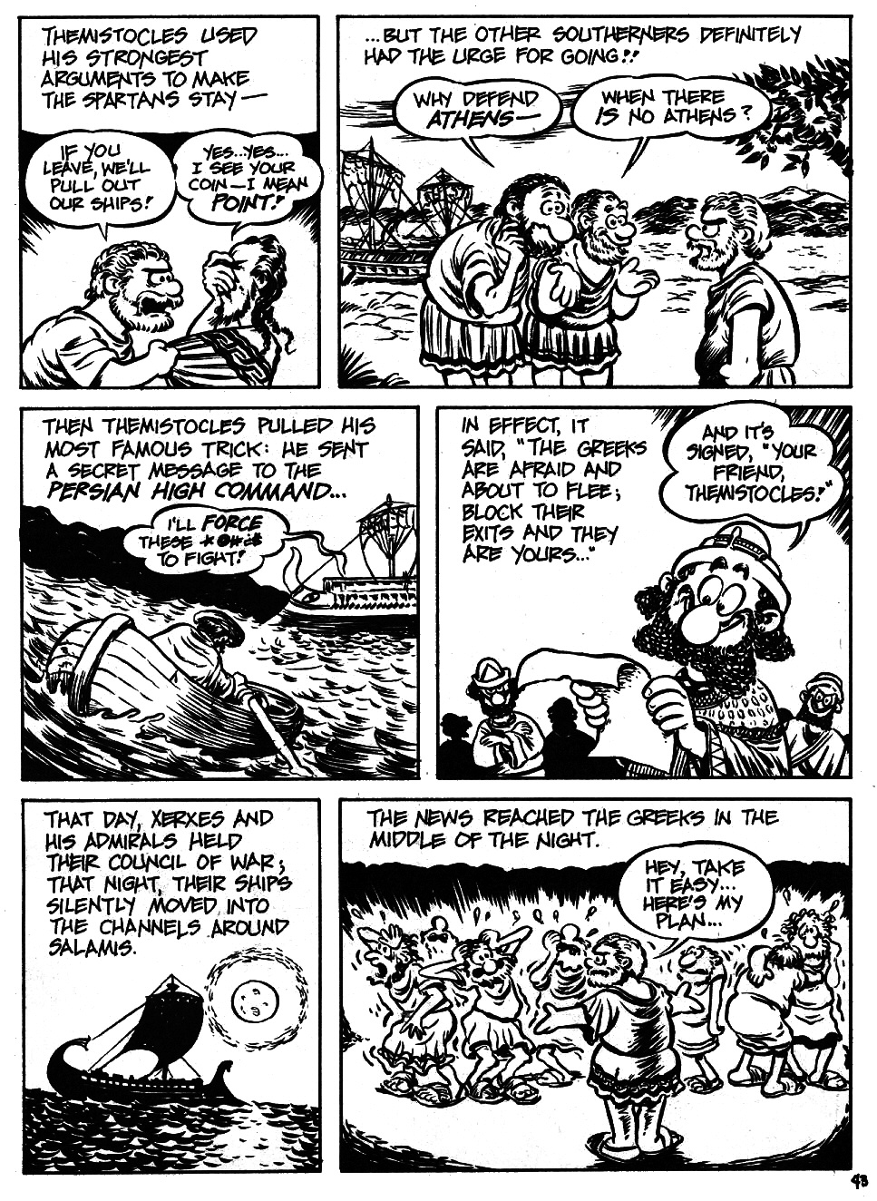 Read online The Cartoon History of the Universe comic -  Issue #6 - 45
