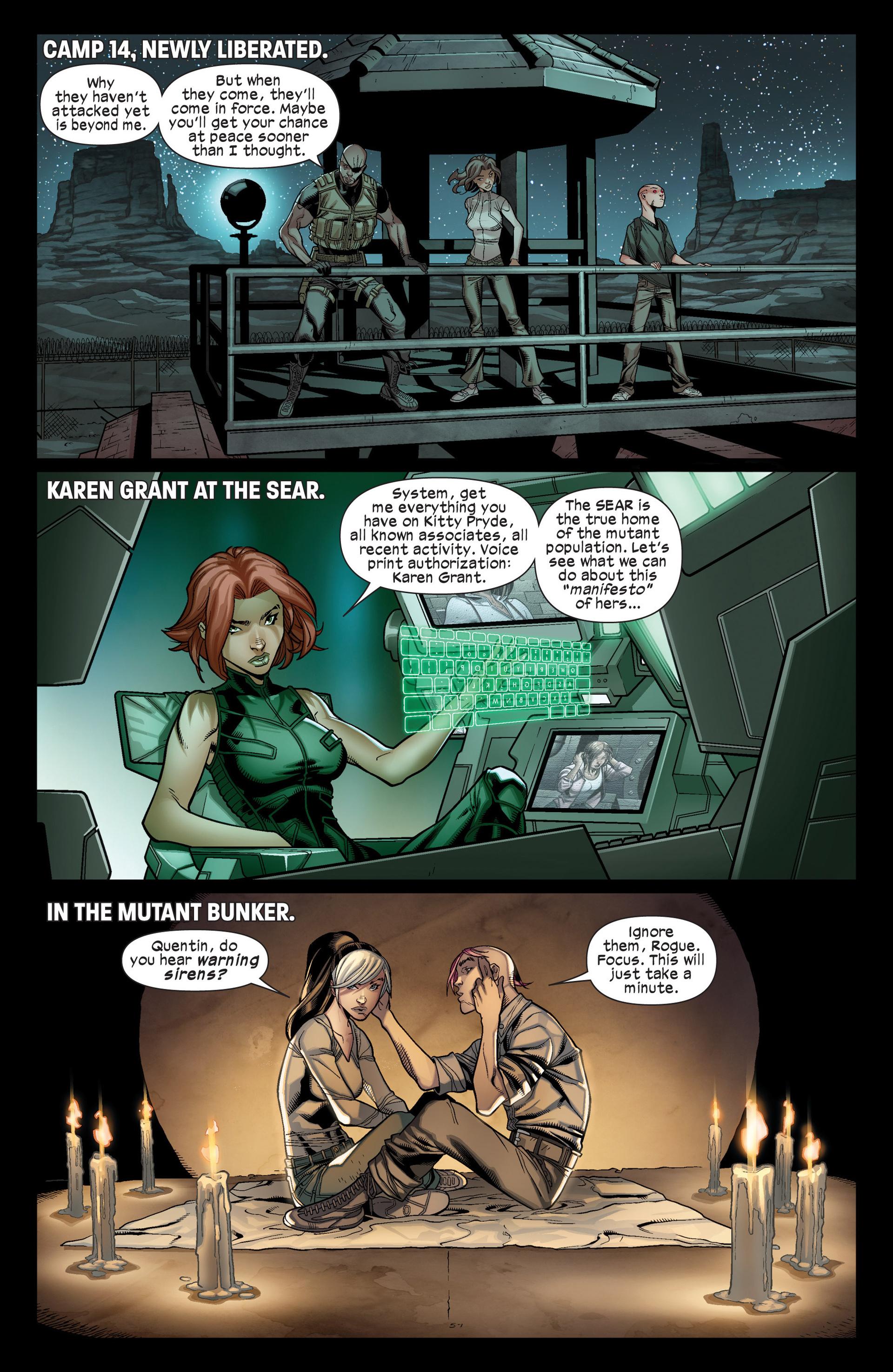 Read online Ultimate Comics X-Men comic -  Issue #17 - 21