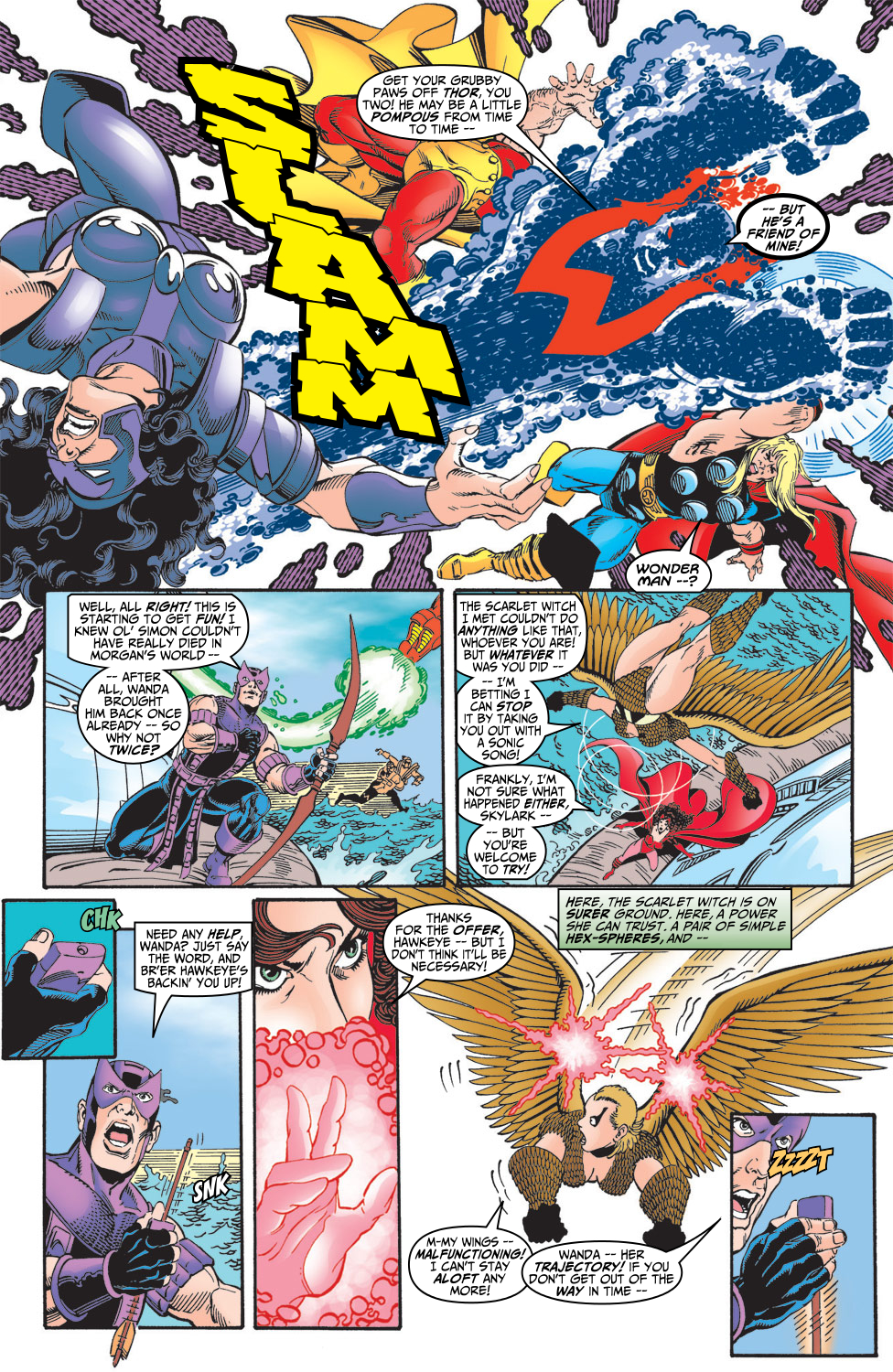 Read online Avengers (1998) comic -  Issue #5 - 18