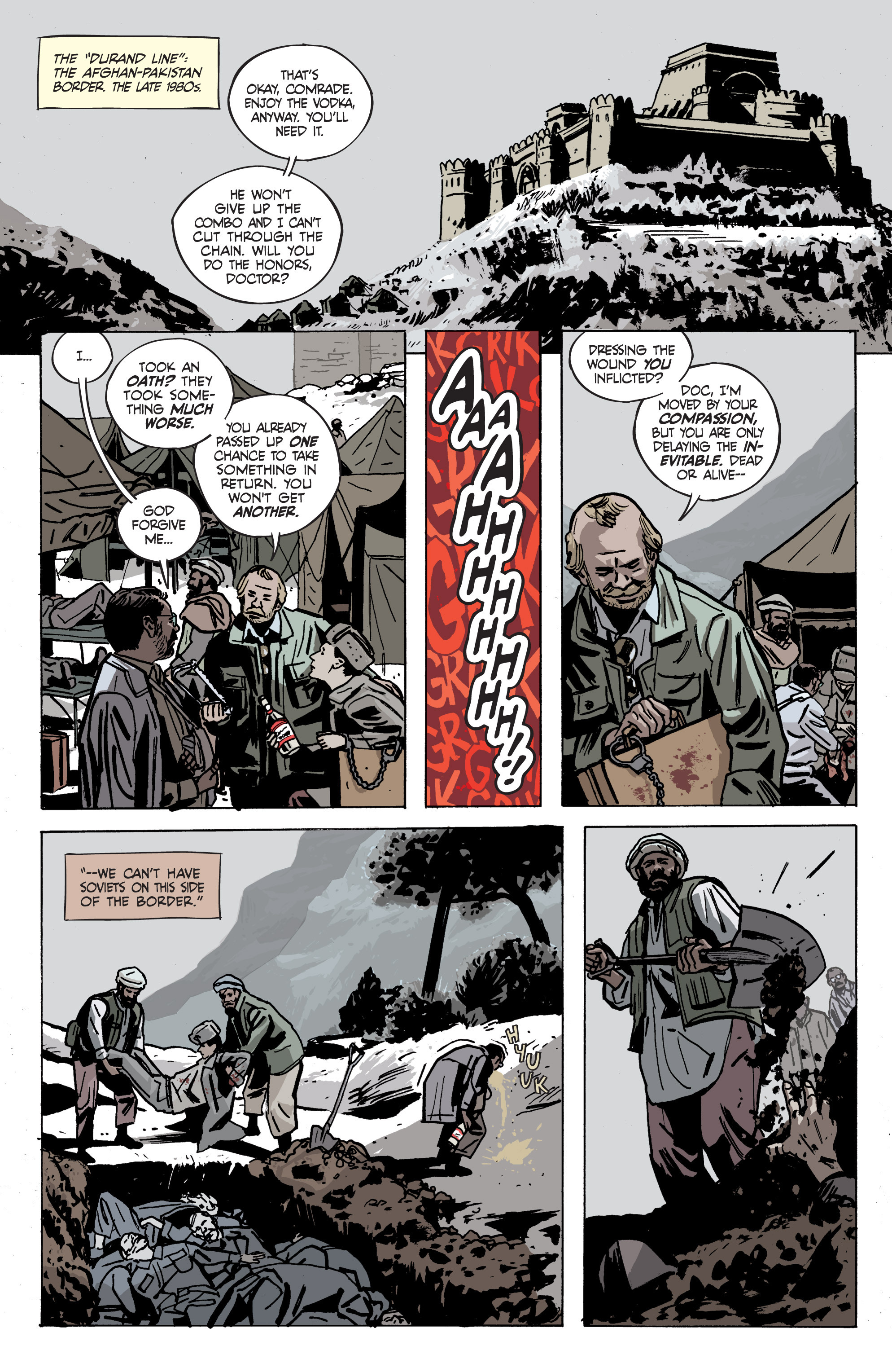 Read online Graveyard of Empires comic -  Issue # TPB - 72