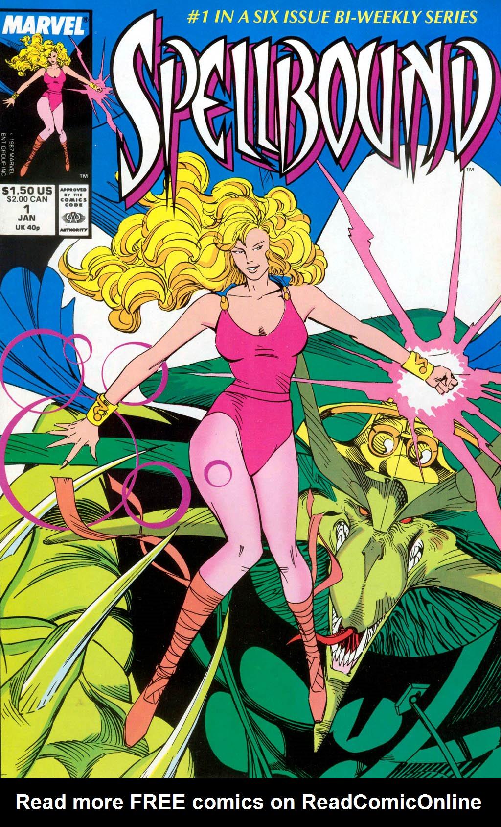 Read online Spellbound comic -  Issue #1 - 1