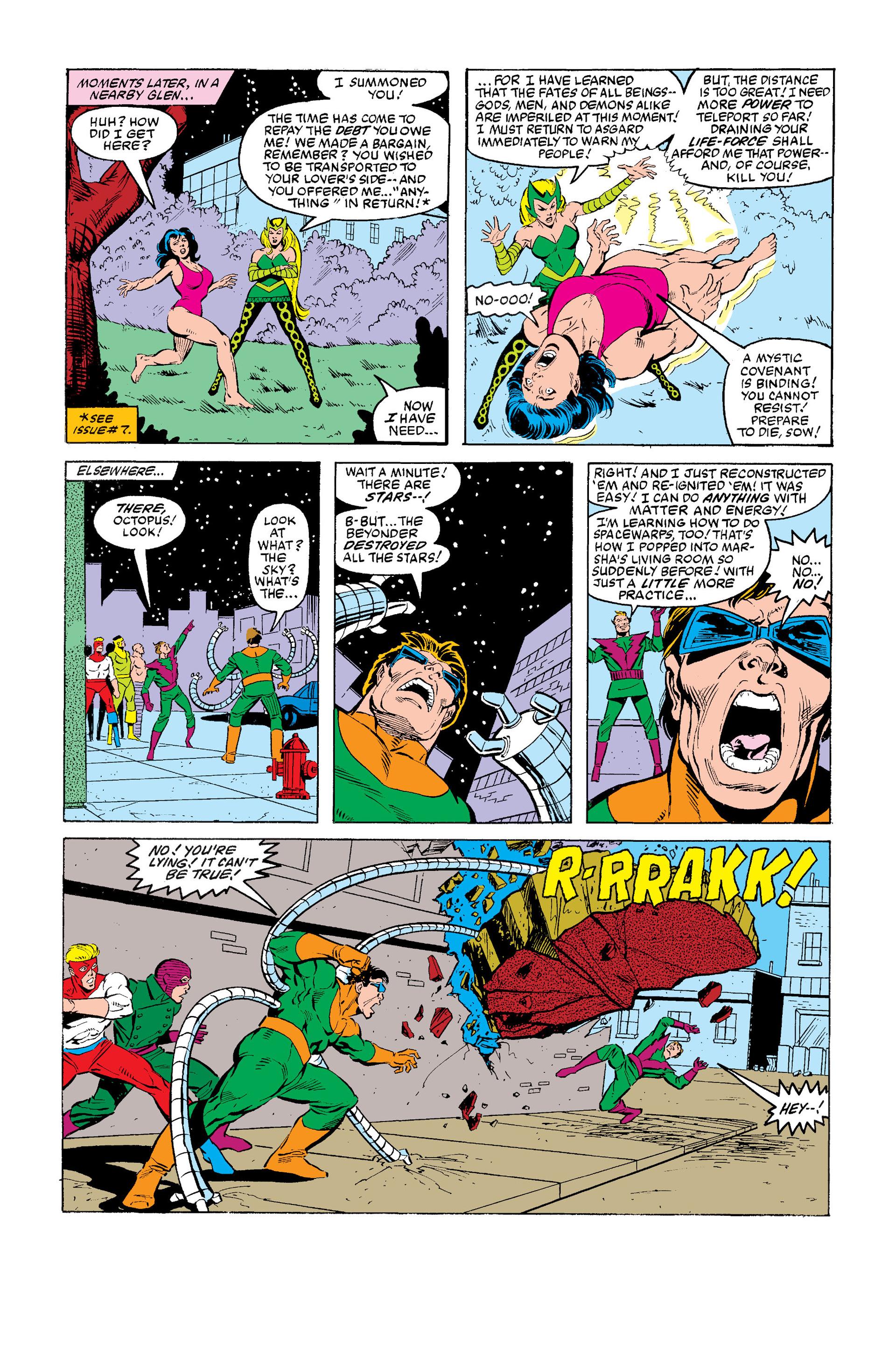 Read online Secret Wars (1985) comic -  Issue #12 - 11