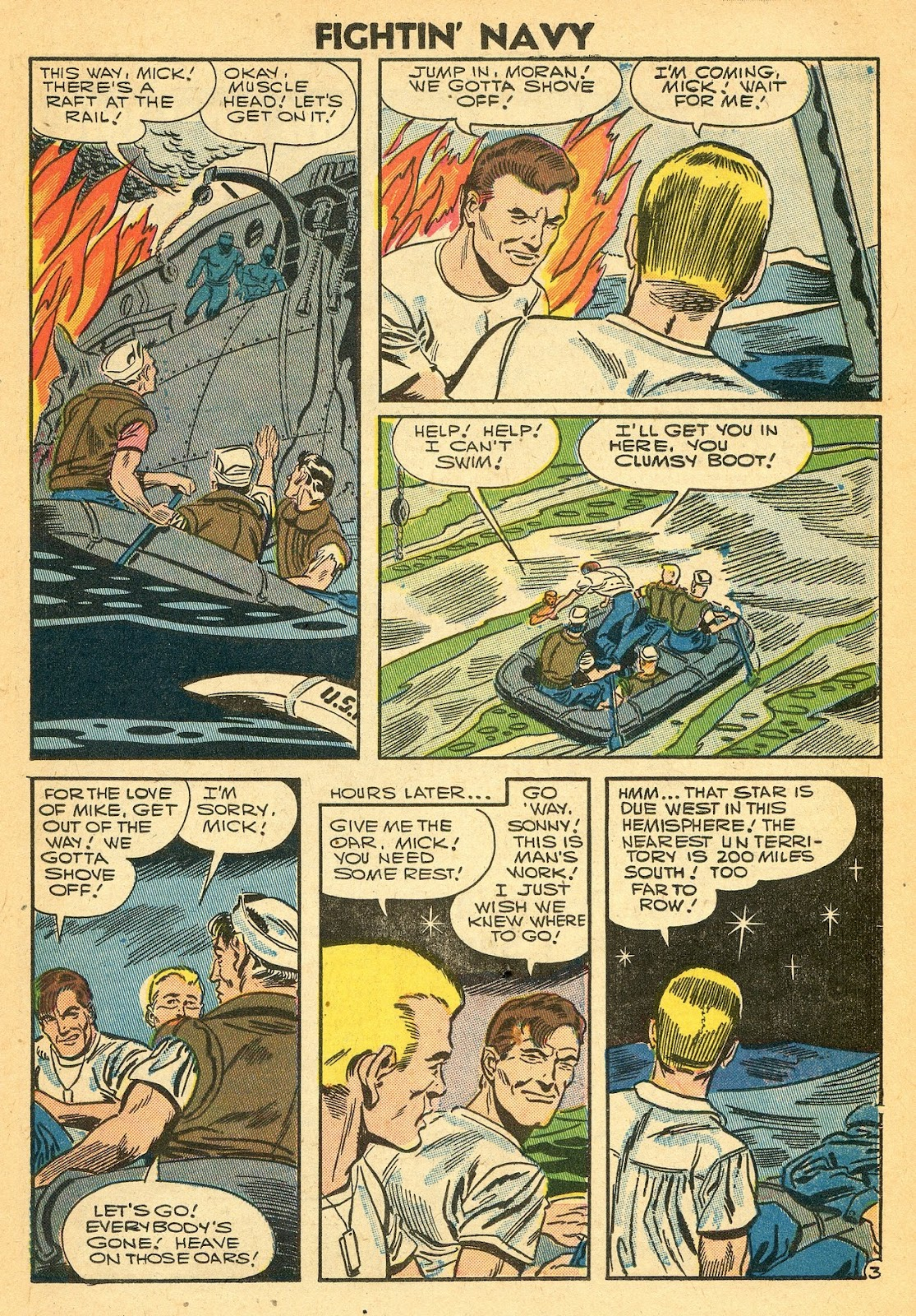 Read online Fightin' Navy comic -  Issue #77 - 21