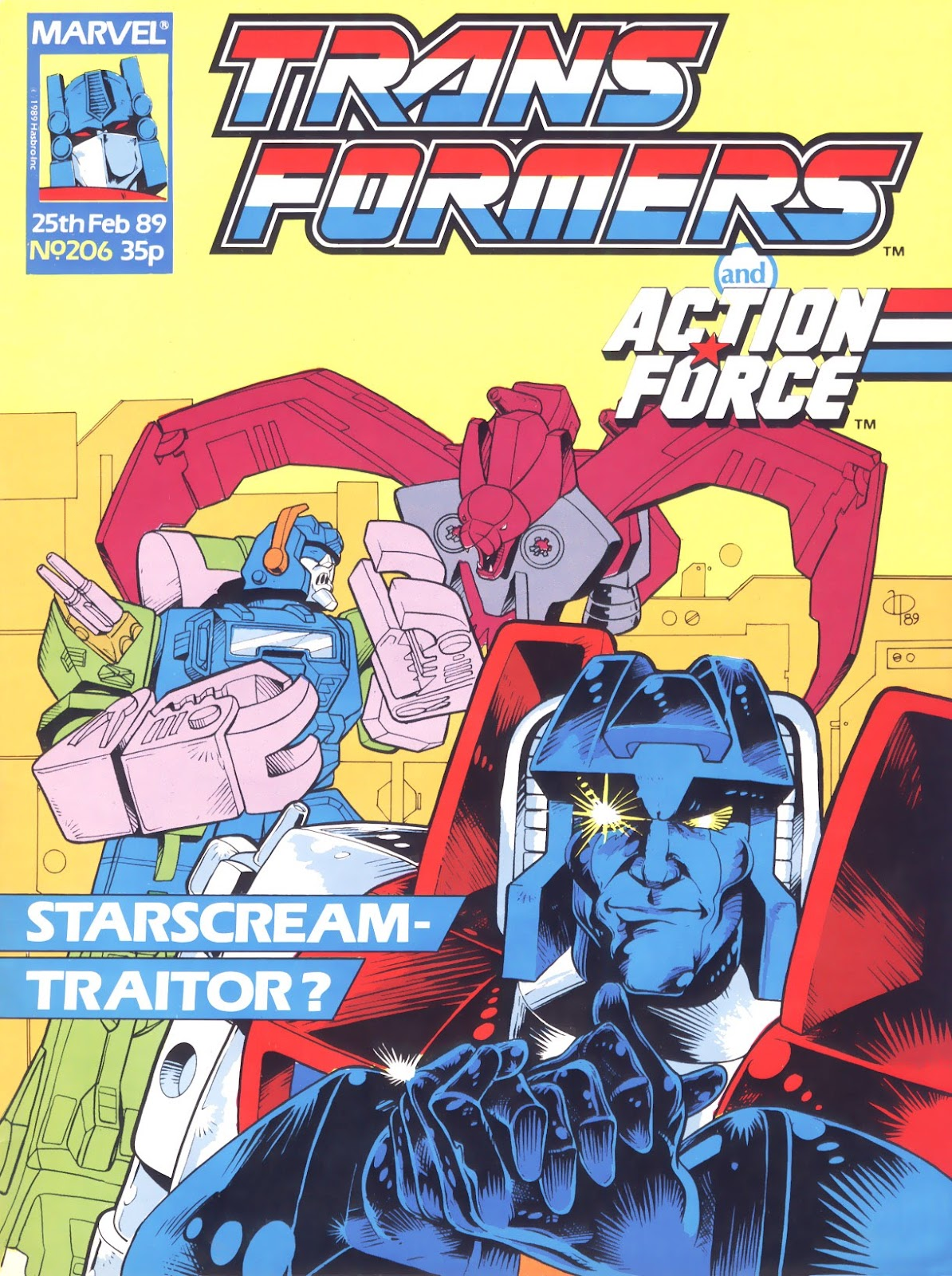 The Transformers (UK) 206 Page 1