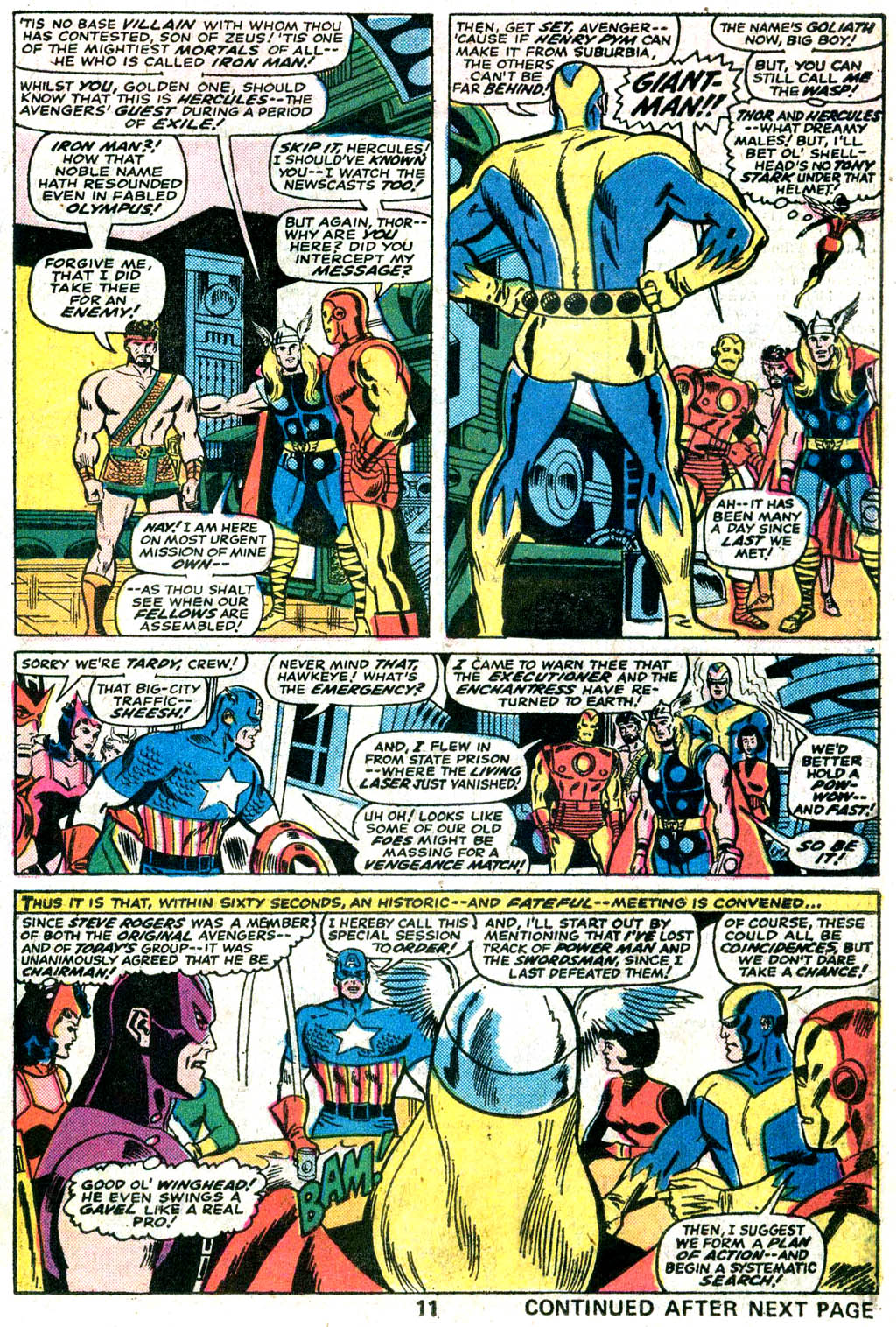 Giant-Size Avengers (1974) issue 5 - Page 10