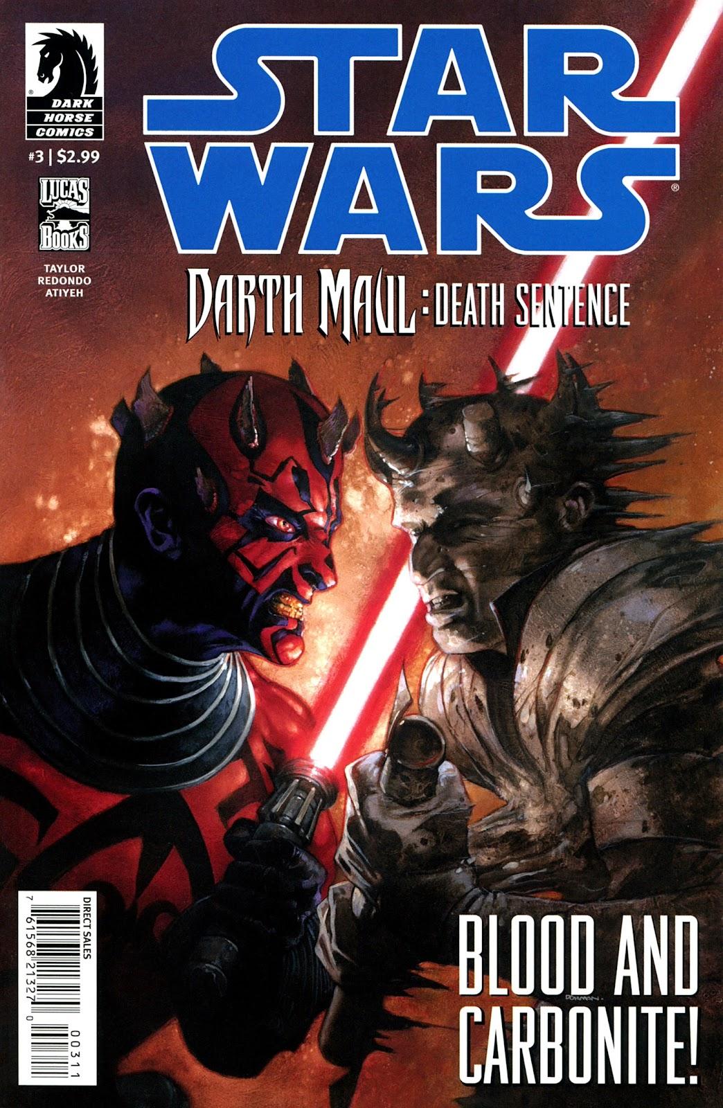Star Wars: Darth Maul - Death Sentence 3 Page 1