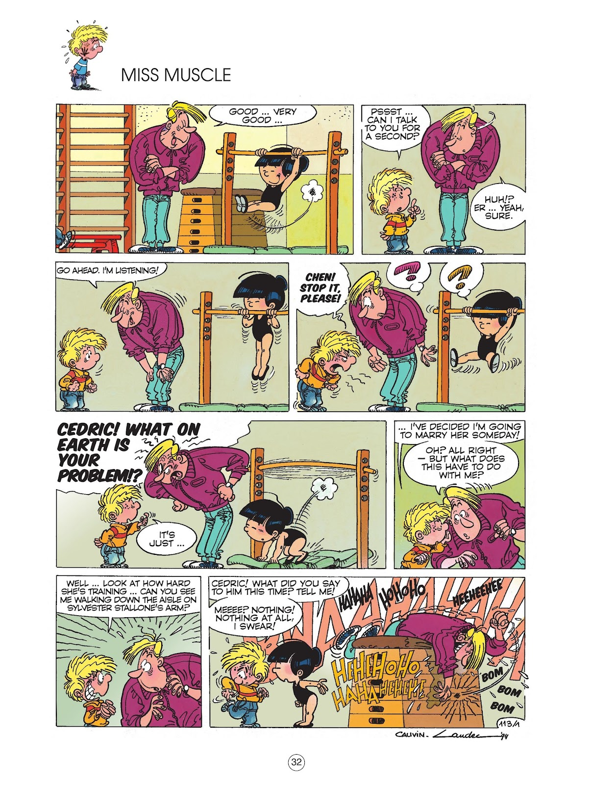 Read online Cedric comic -  Issue #6 - 34