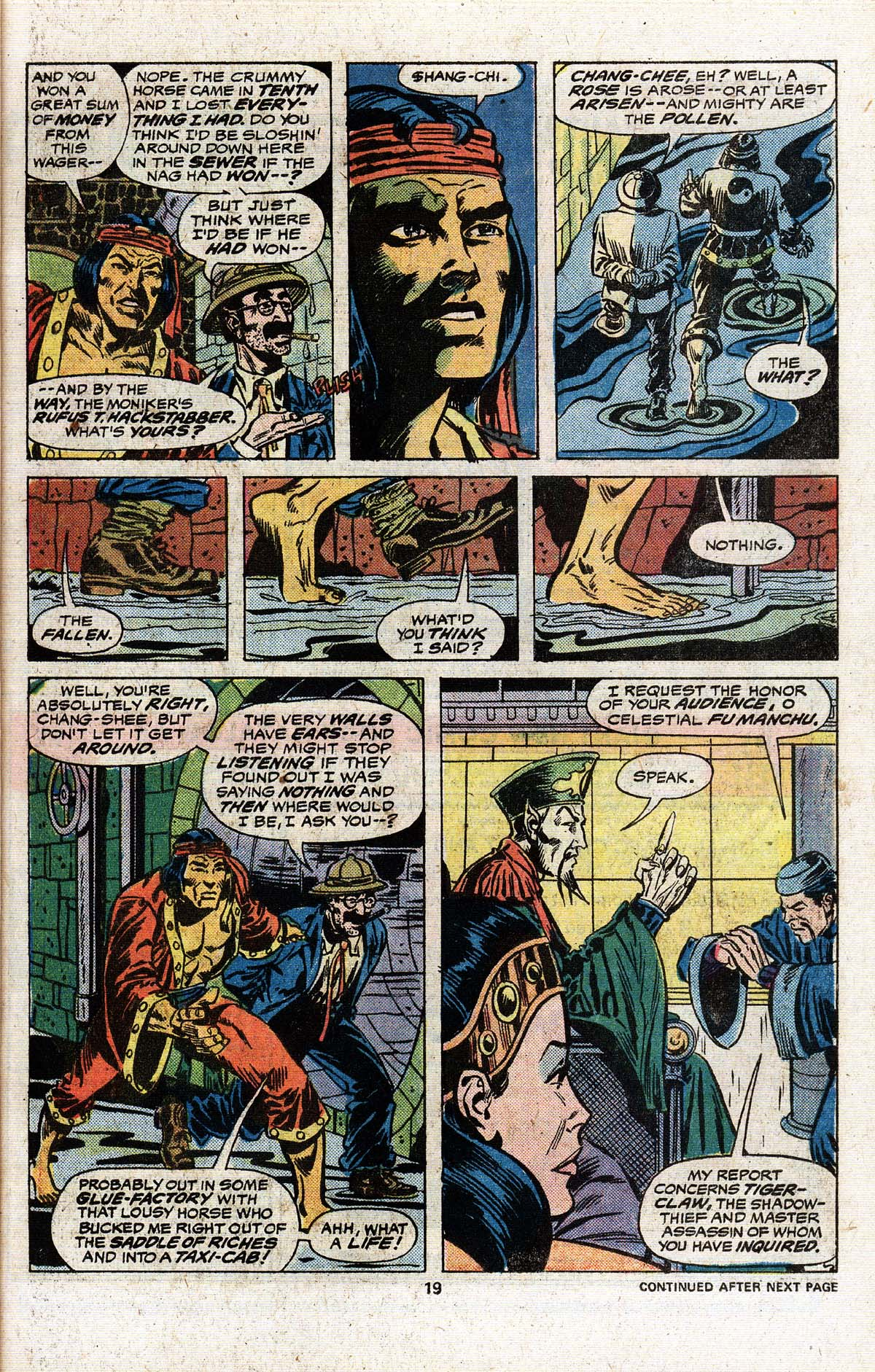 Read online Giant-Size Master of Kung Fu comic -  Issue #4 - 18