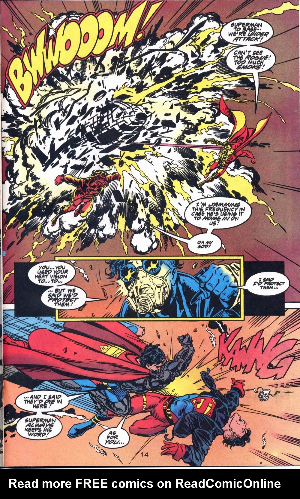 Read online Adventures of Superman (1987) comic -  Issue #503 - 15