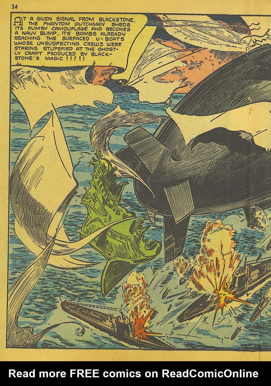 Read online Super-Magician Comics comic -  Issue #10 - 34
