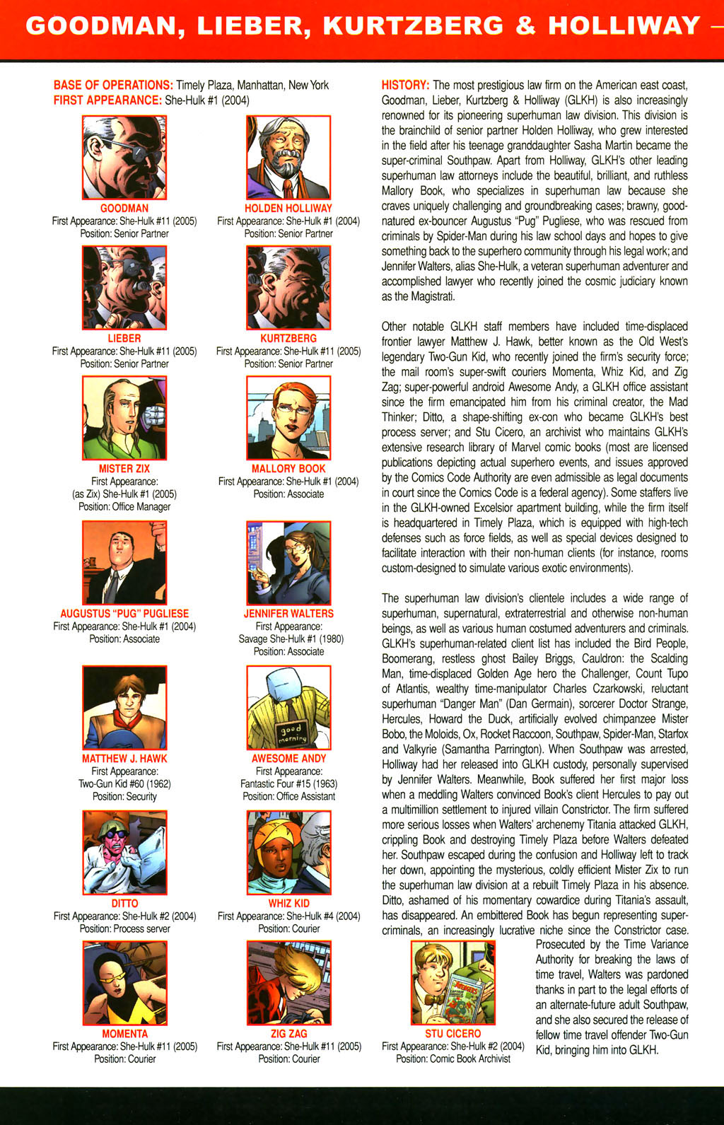 Read online All-New Official Handbook of the Marvel Universe A to Z comic -  Issue #4 - 66