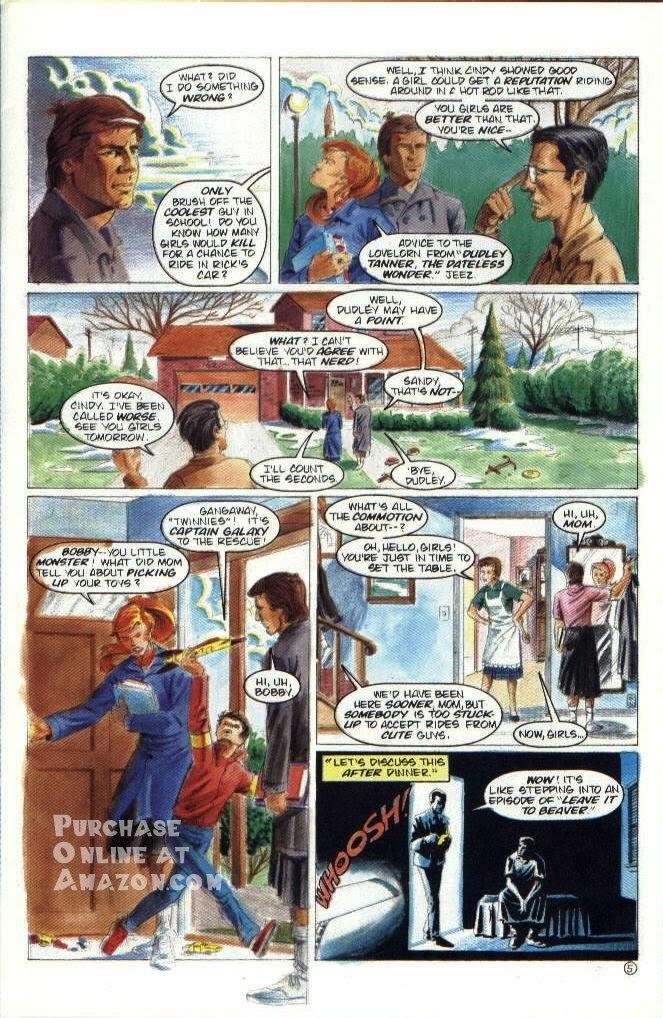 Read online Quantum Leap comic -  Issue #6 - 6