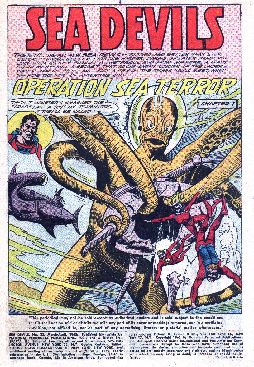 Read online Sea Devils comic -  Issue #22 - 3